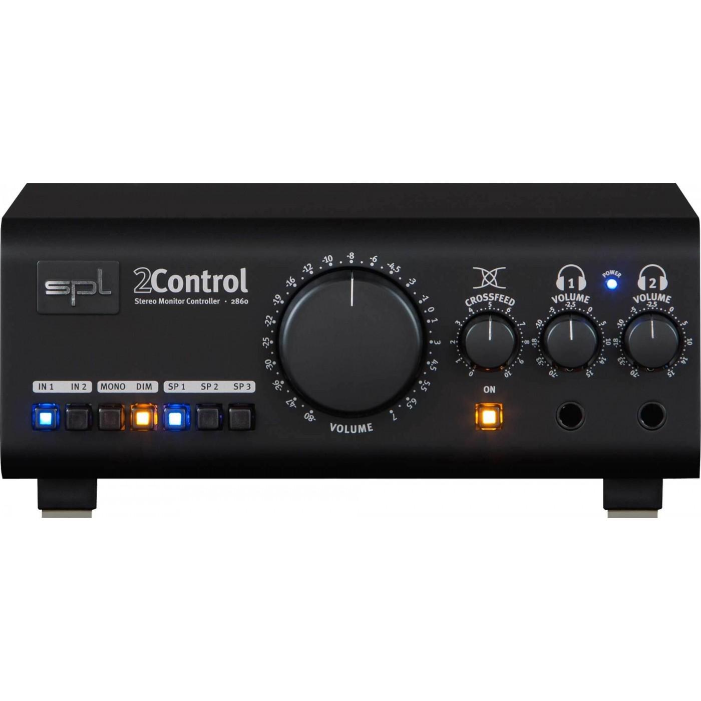 SPL 2CONTROL Black | Rage Audio