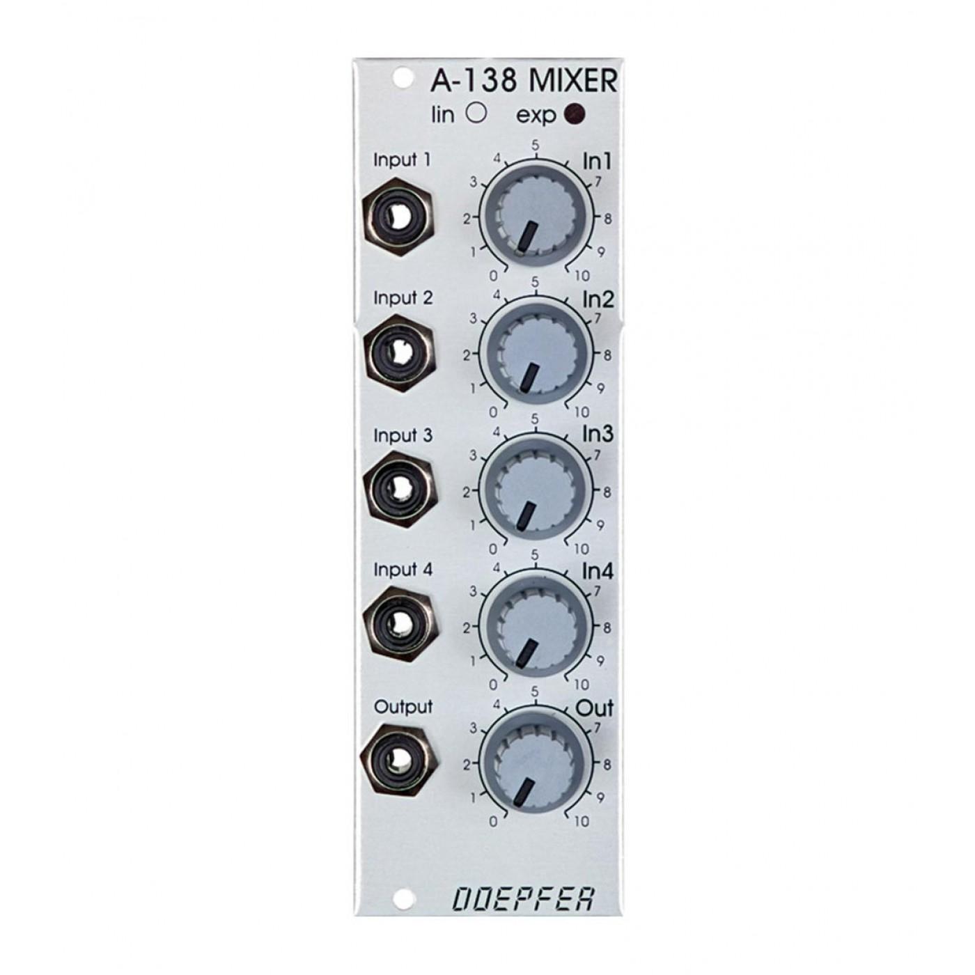 Doepfer A-138b Mixer Logarithmic