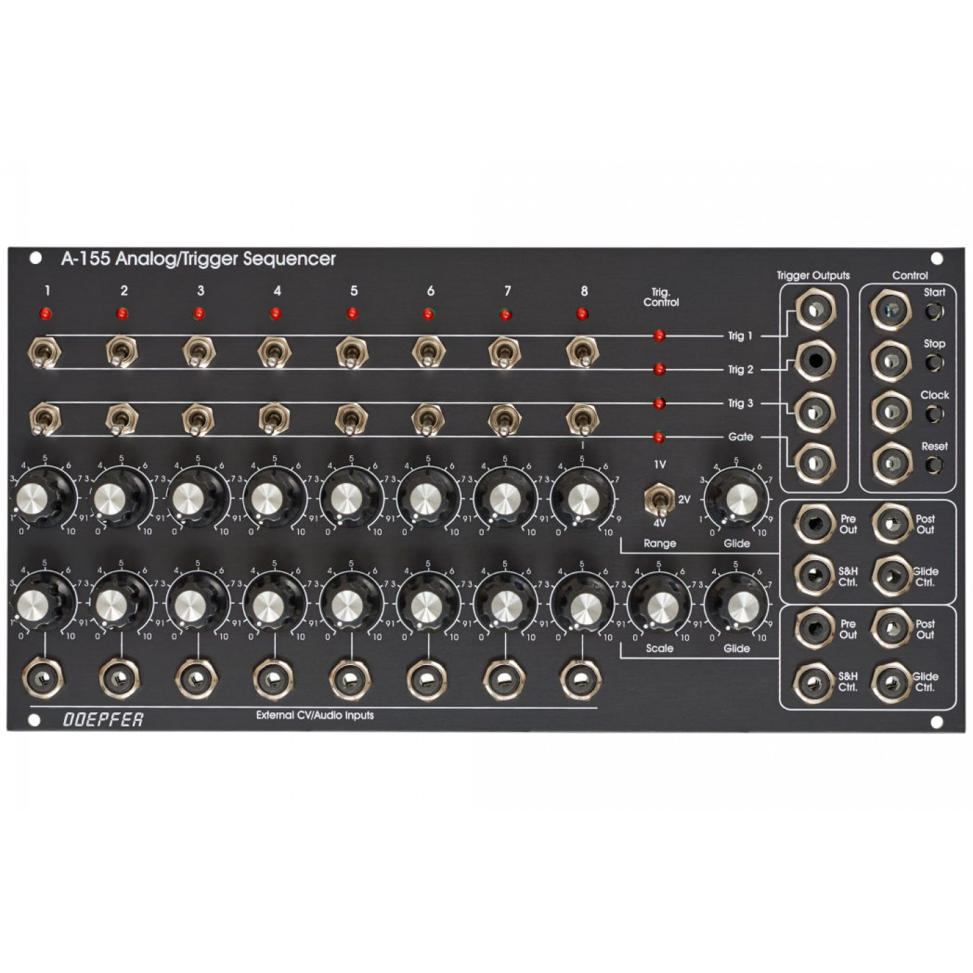 Doepfer A-155 Analog/Trigger Sequencer Vintage Edition | Rage Audio