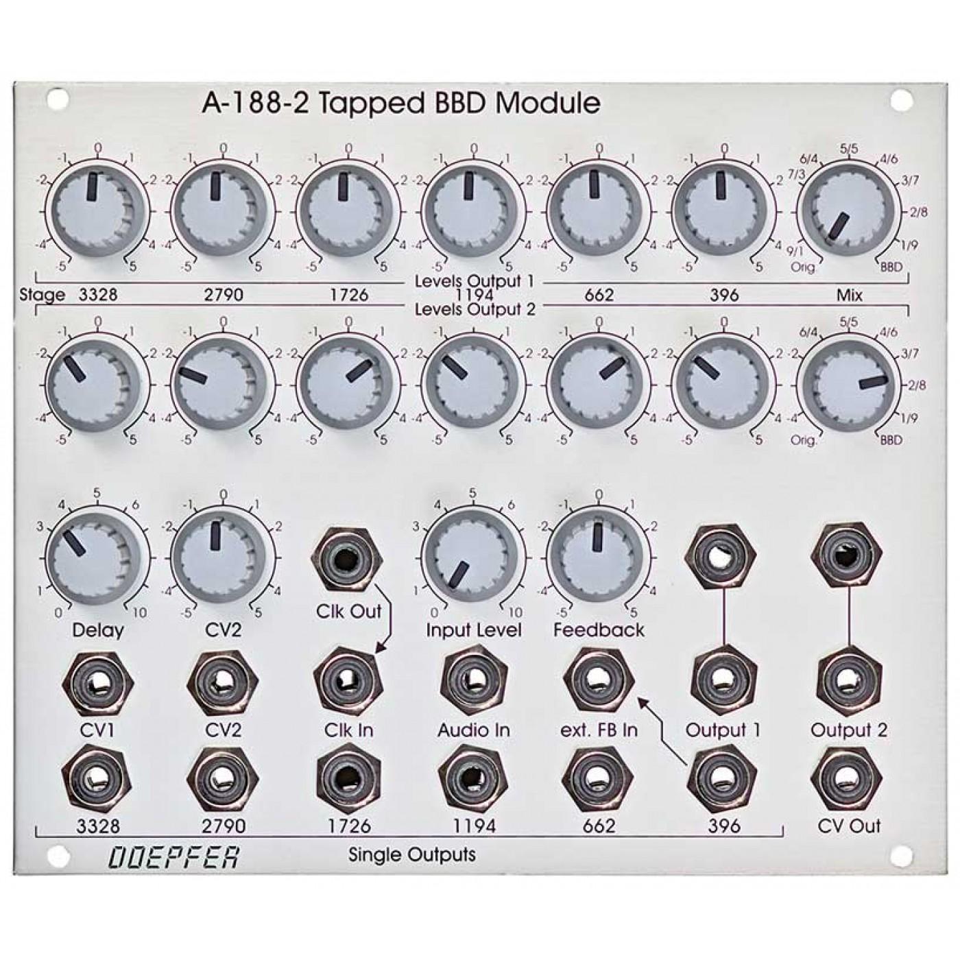 Doepfer A-188-2 Tapped BBD Module   Rage Audio