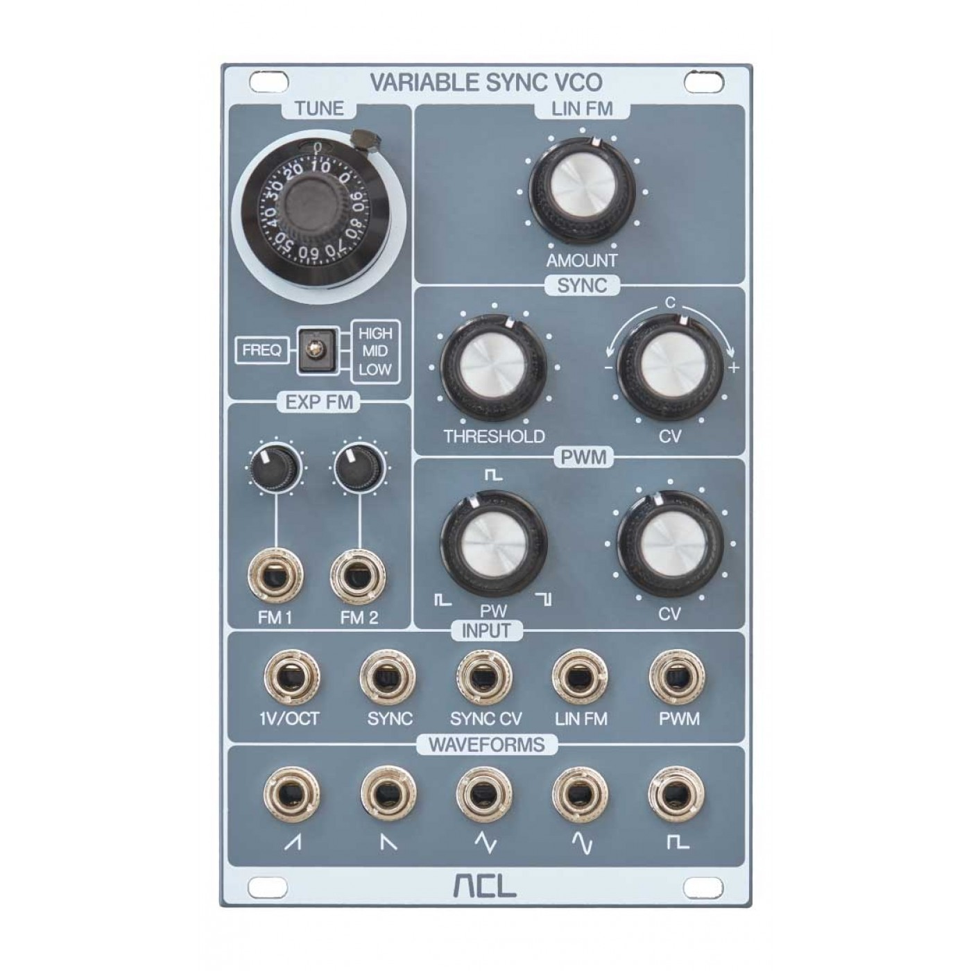 ACL VARIABLE SYNC VCO