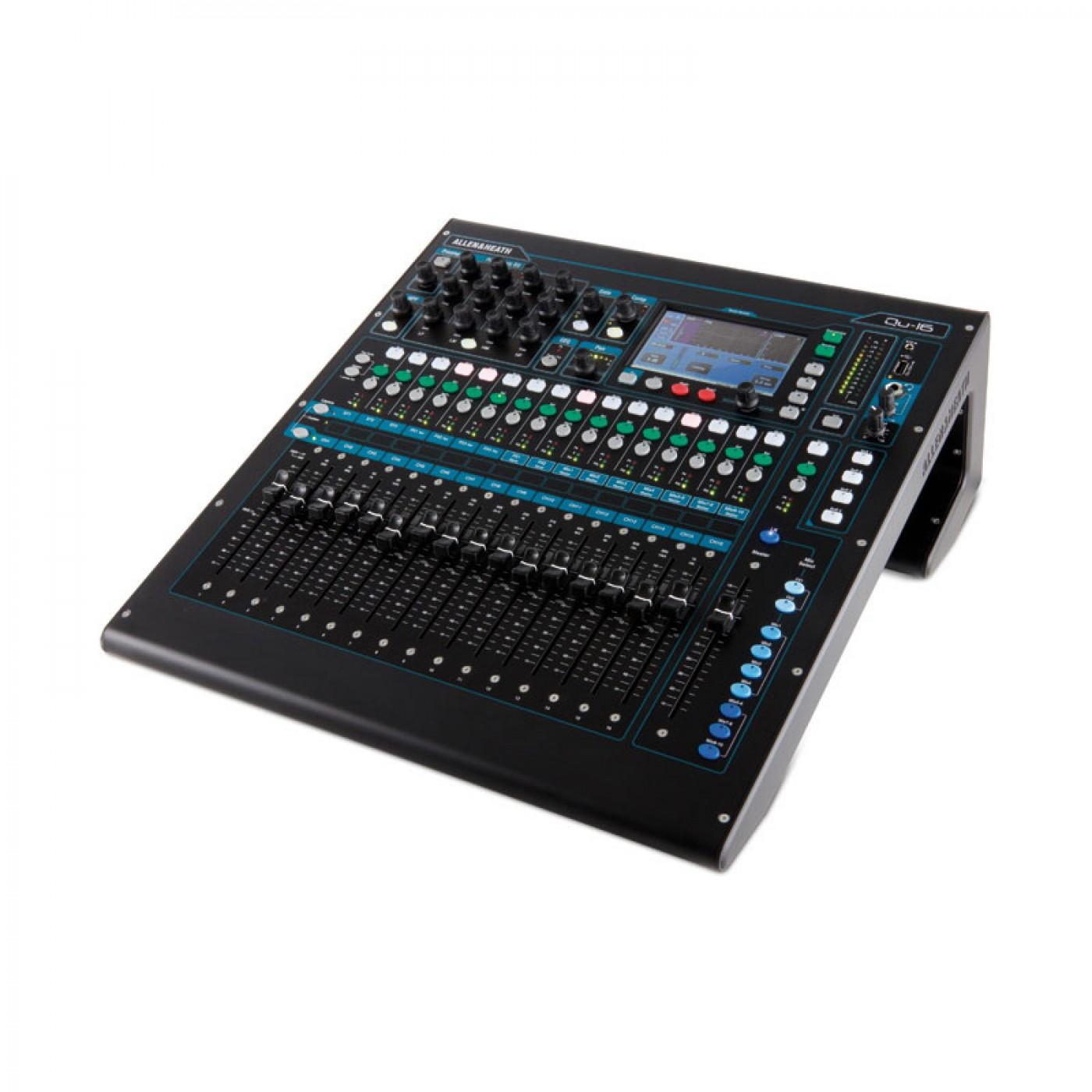 Allen & Heath QU-16 Chrome   Rage Audio