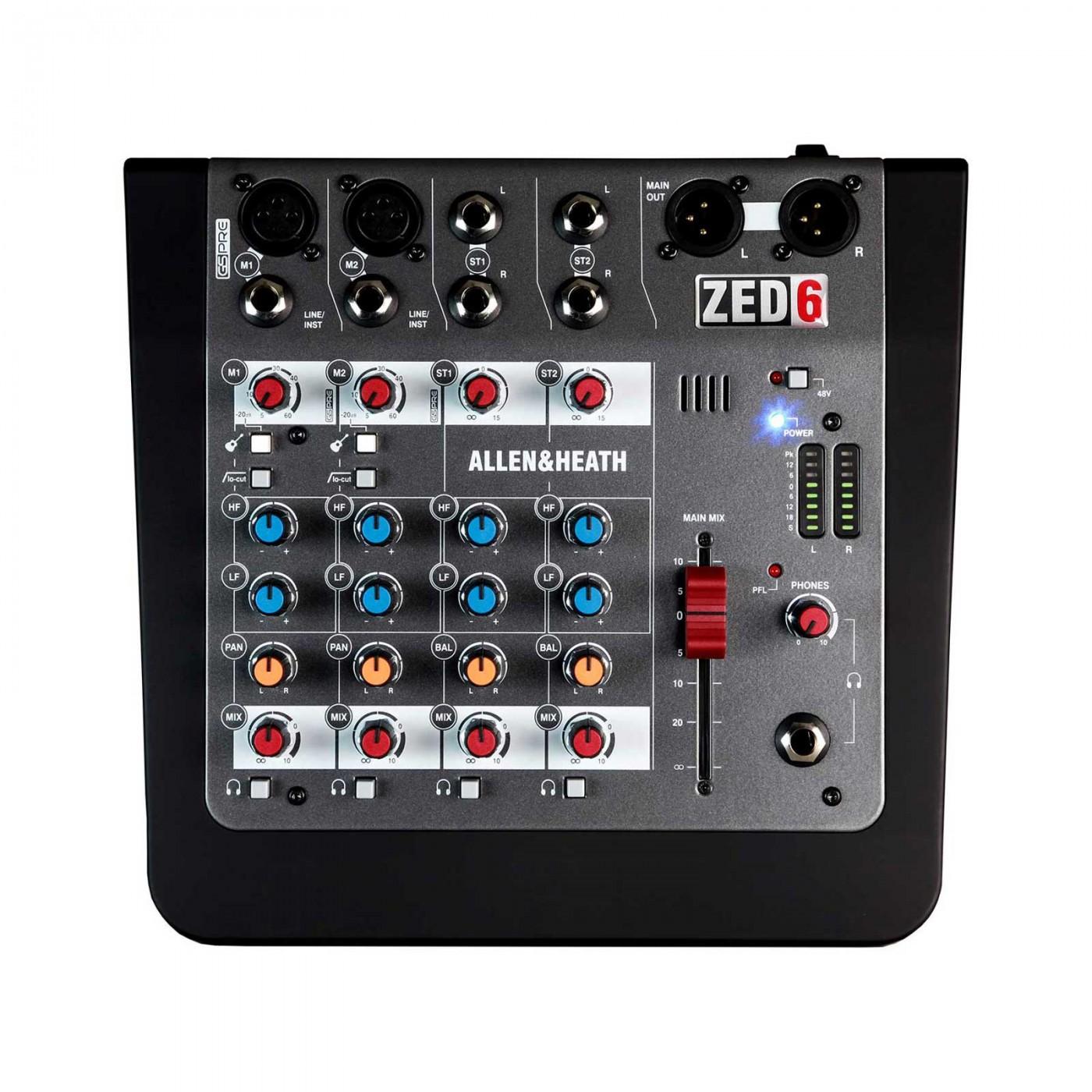 Allen & Heath ZED-6 | Rage Audio