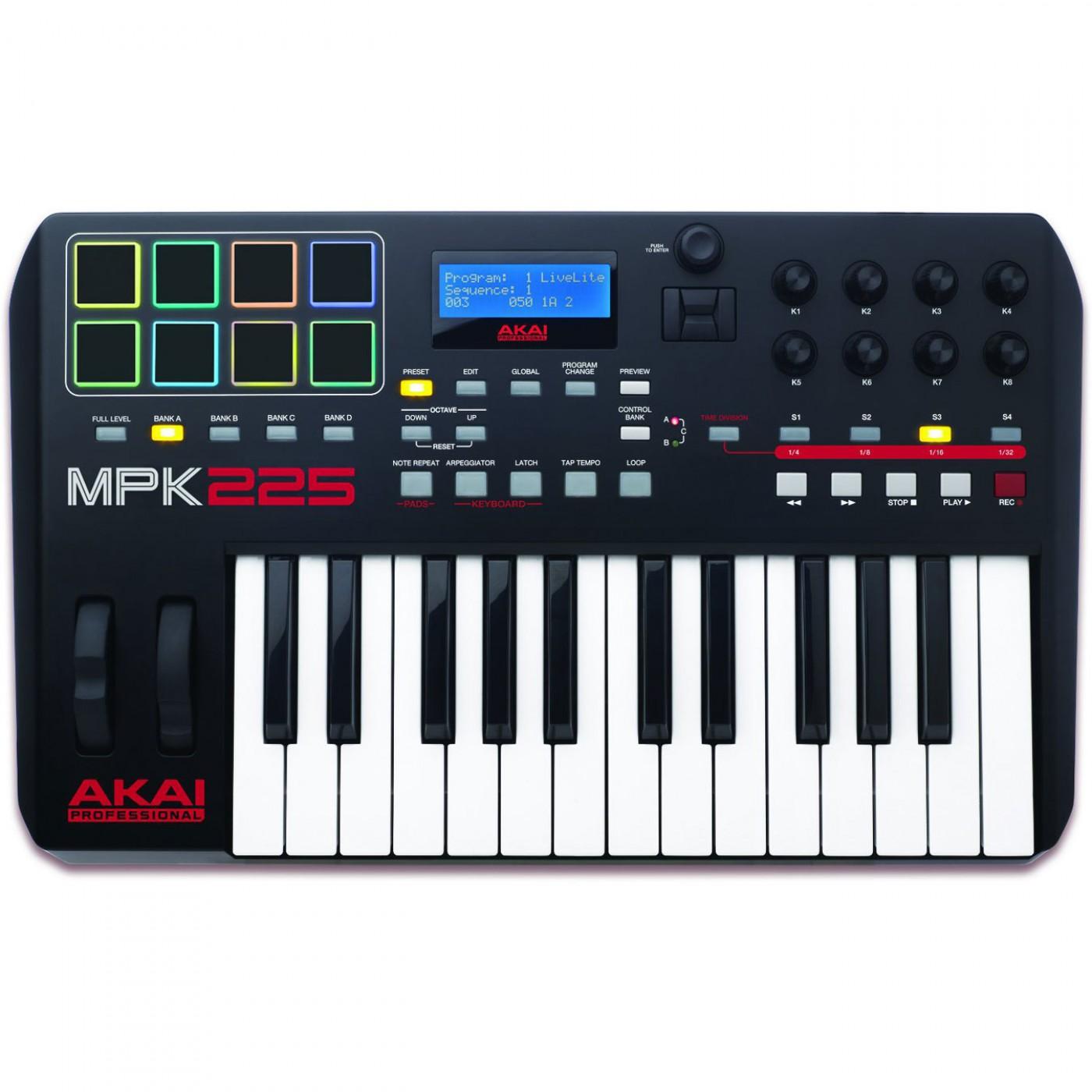 Akai MPK225 | Rage Audio