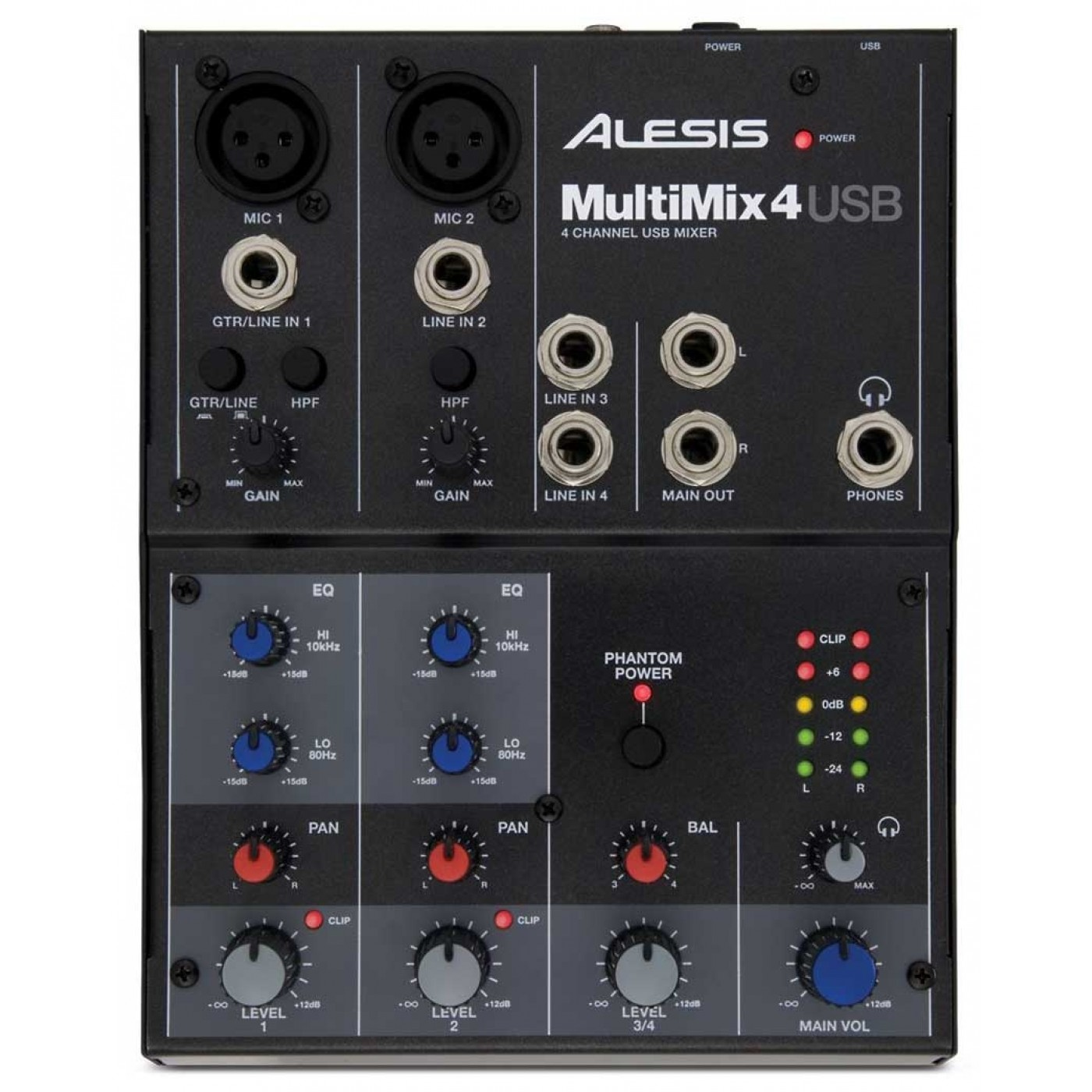 Top Alesis MULTIMIX 4USB | Rage Audio