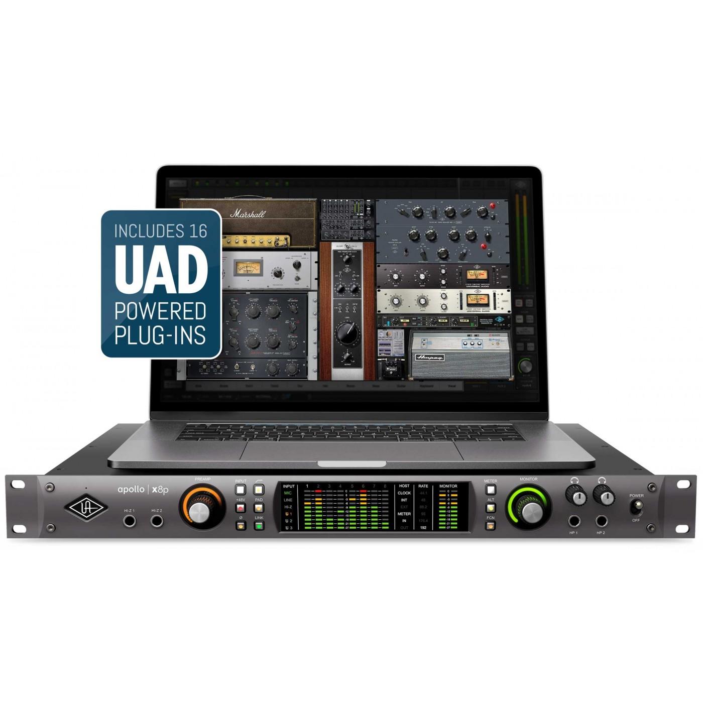 Universal Audio APOLLO X8p   Rage Audio