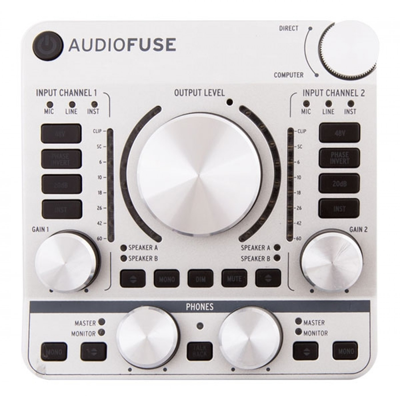 Arturia AUDIOFUSE Silver | Rage Audio