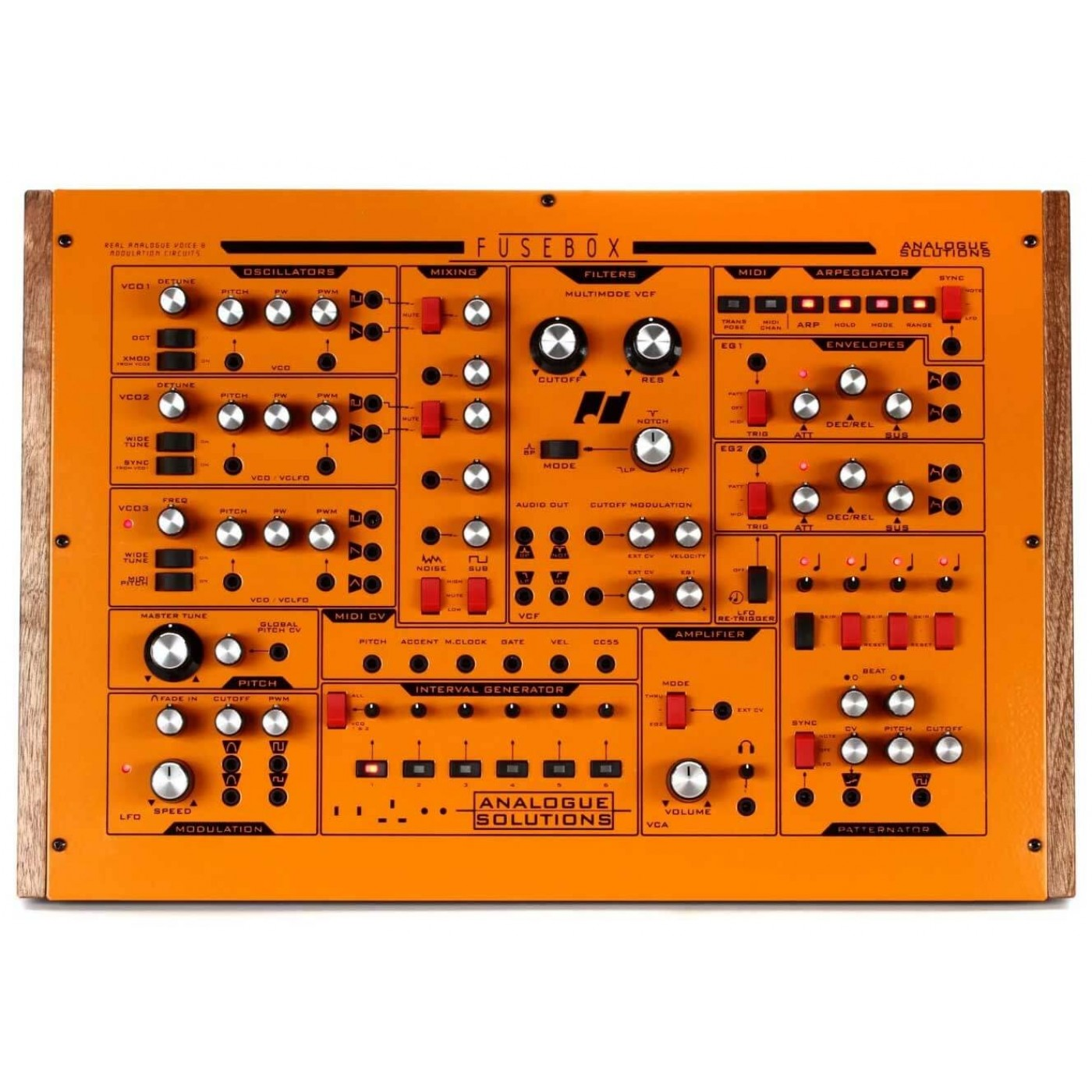 Front Analogue Solutions FUSEBOX   Rage Audio