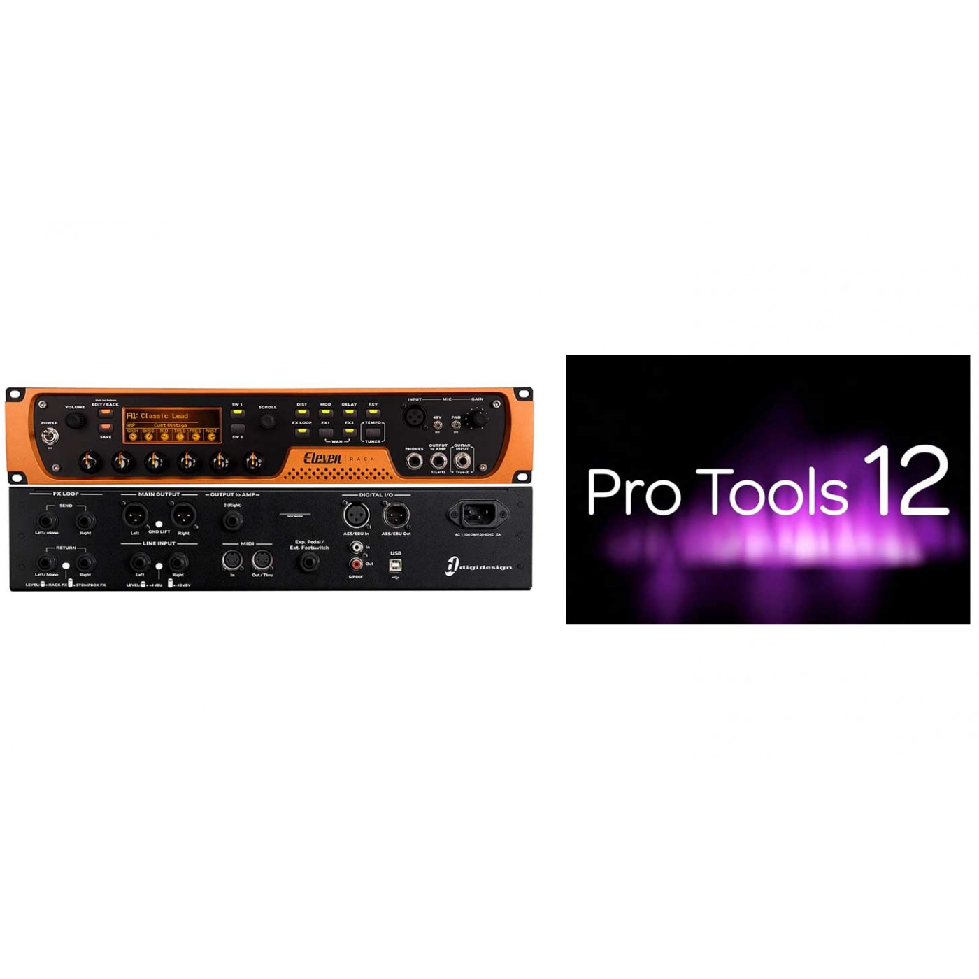 Avid ELEVEN + Pro Tools