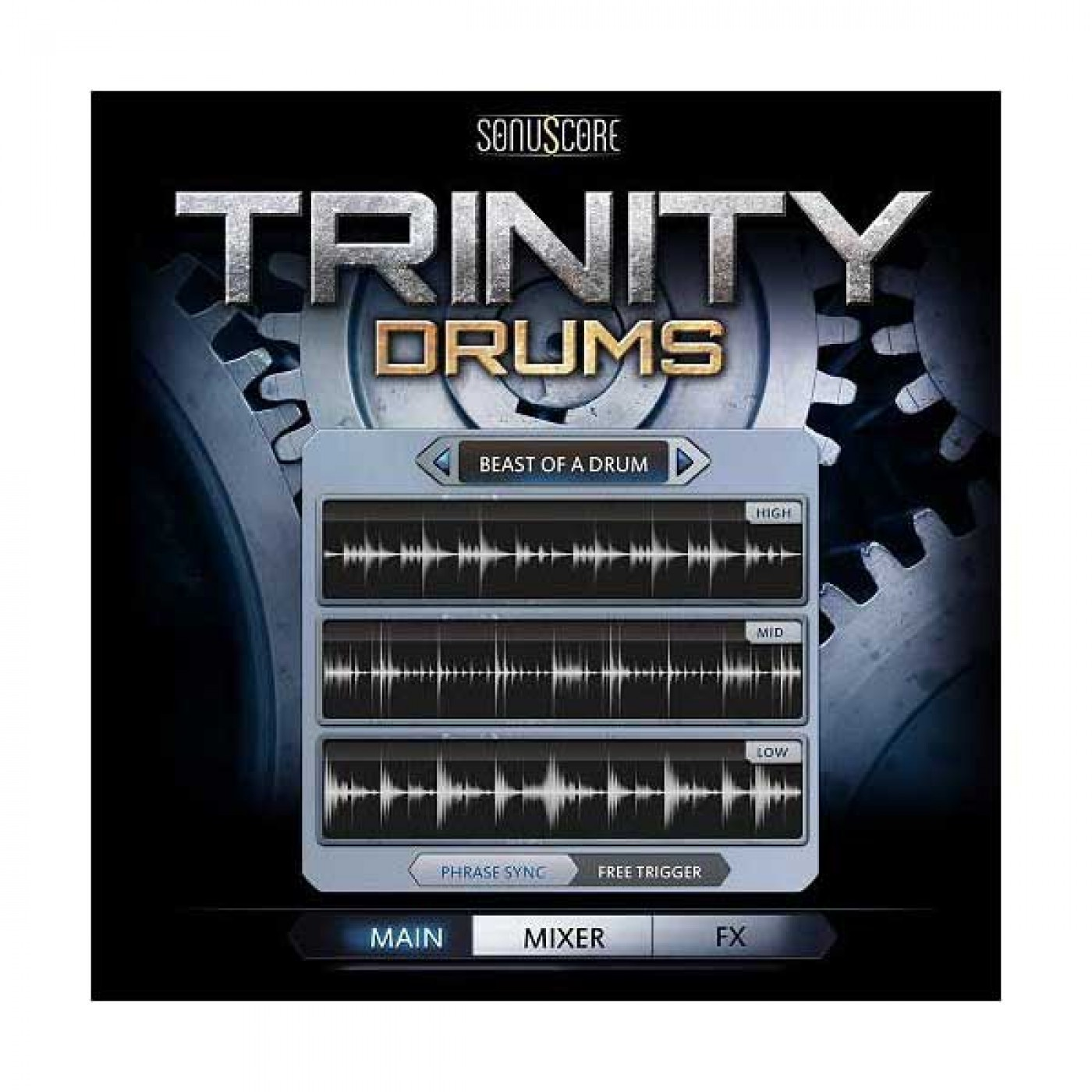 Best Service TRINITY DRUMS | Rage Audio