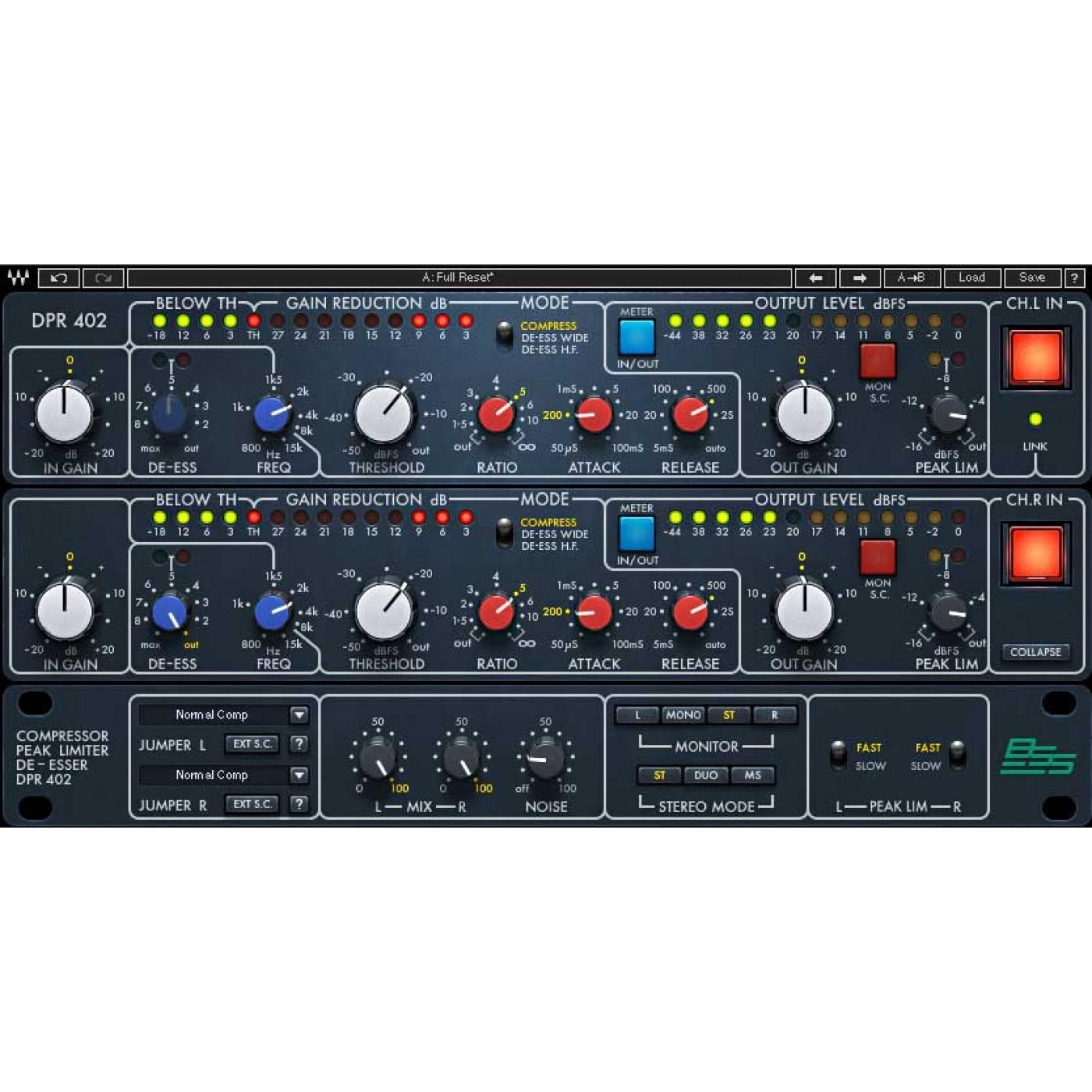 Waves BSS DPR-402 | Rage Audio