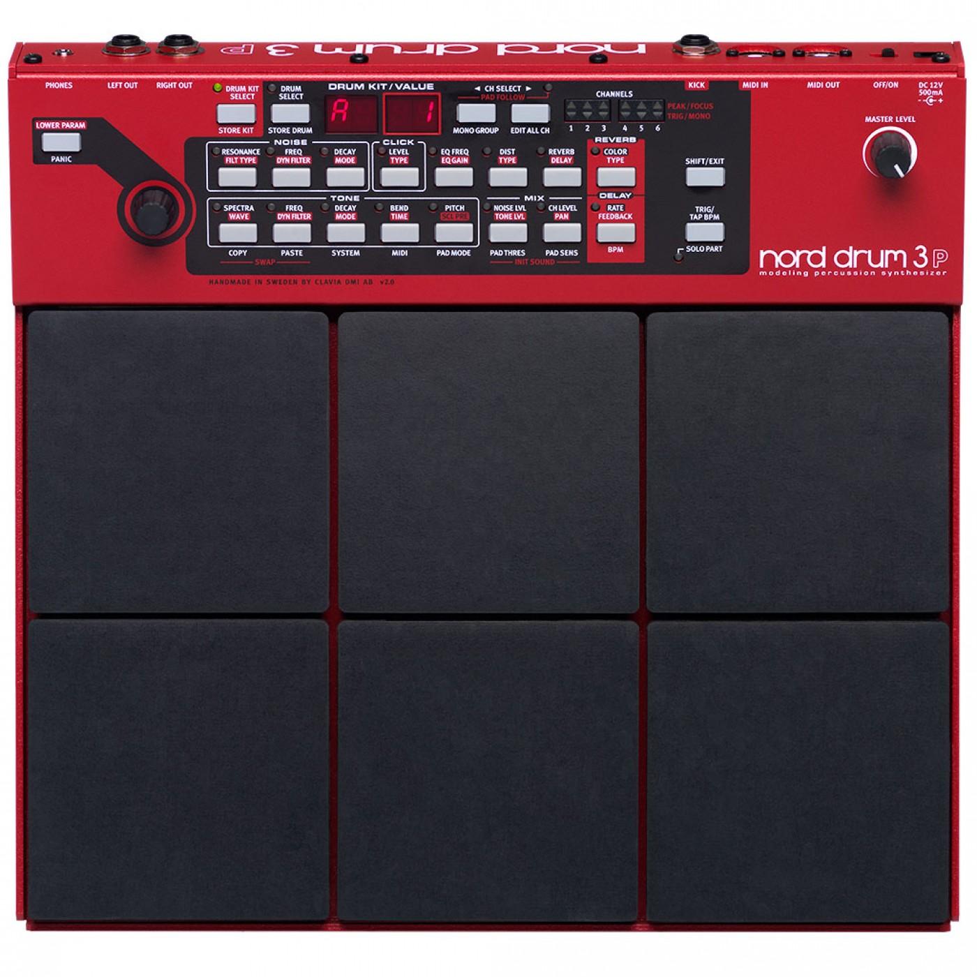 Clavia NORD DRUM 3P   Rage Audio
