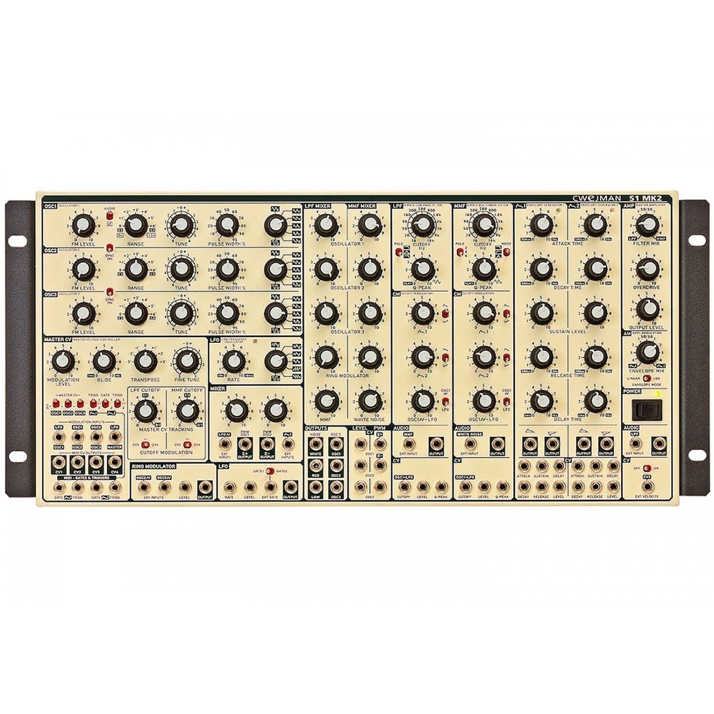 Cwejman S1 MK2 Analog Synth | Rage Audio