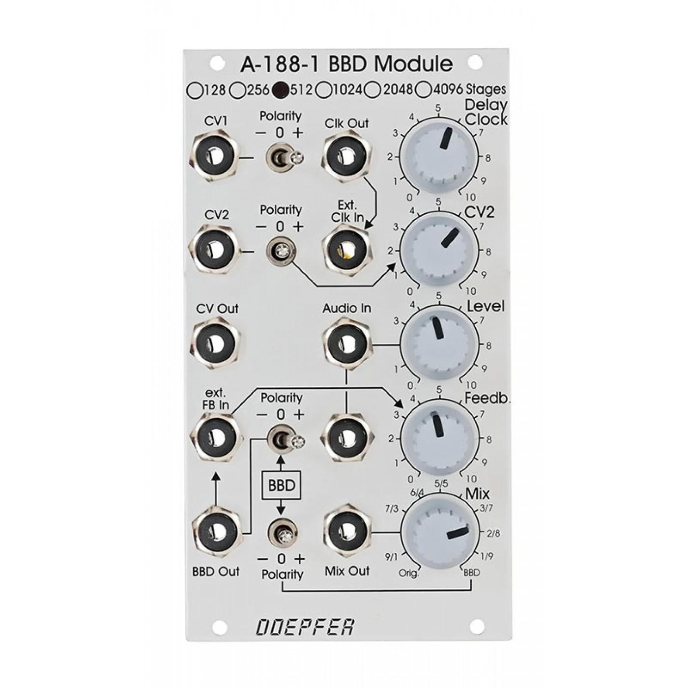 Doepfer A-188-1A BBD 512 Stages