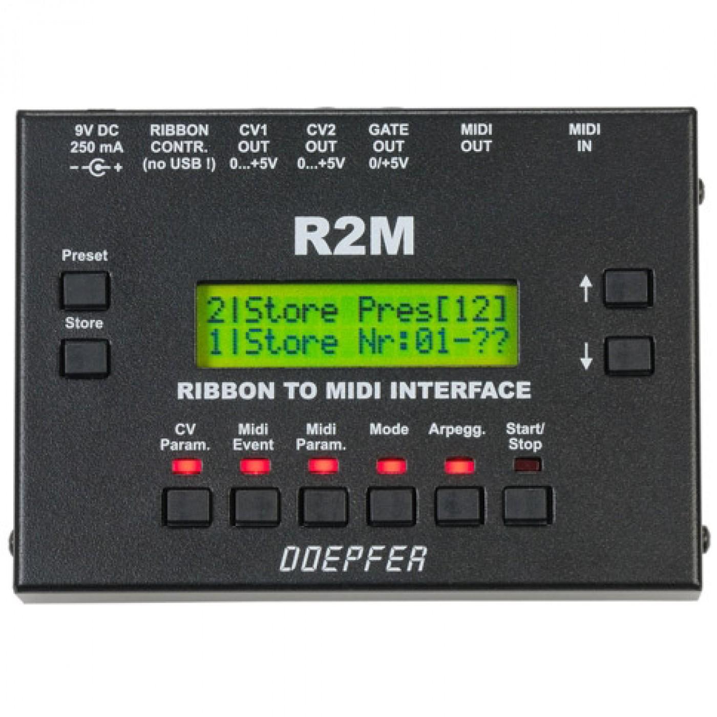 Doepfer R2M V2 MIDI Ribbon Controller