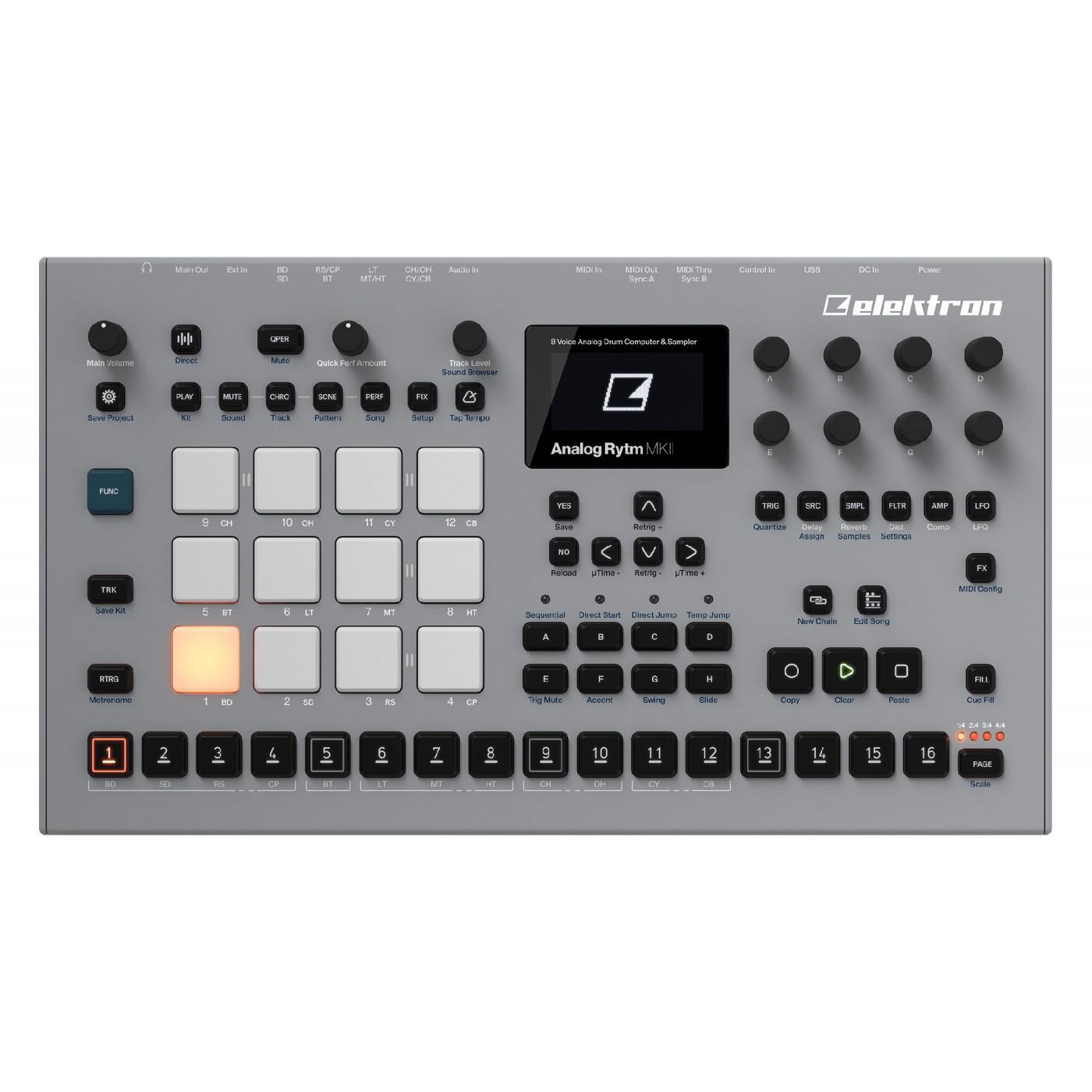 Caja de ritmos Elektron ANALOG RYTM MKII | Rage Audio