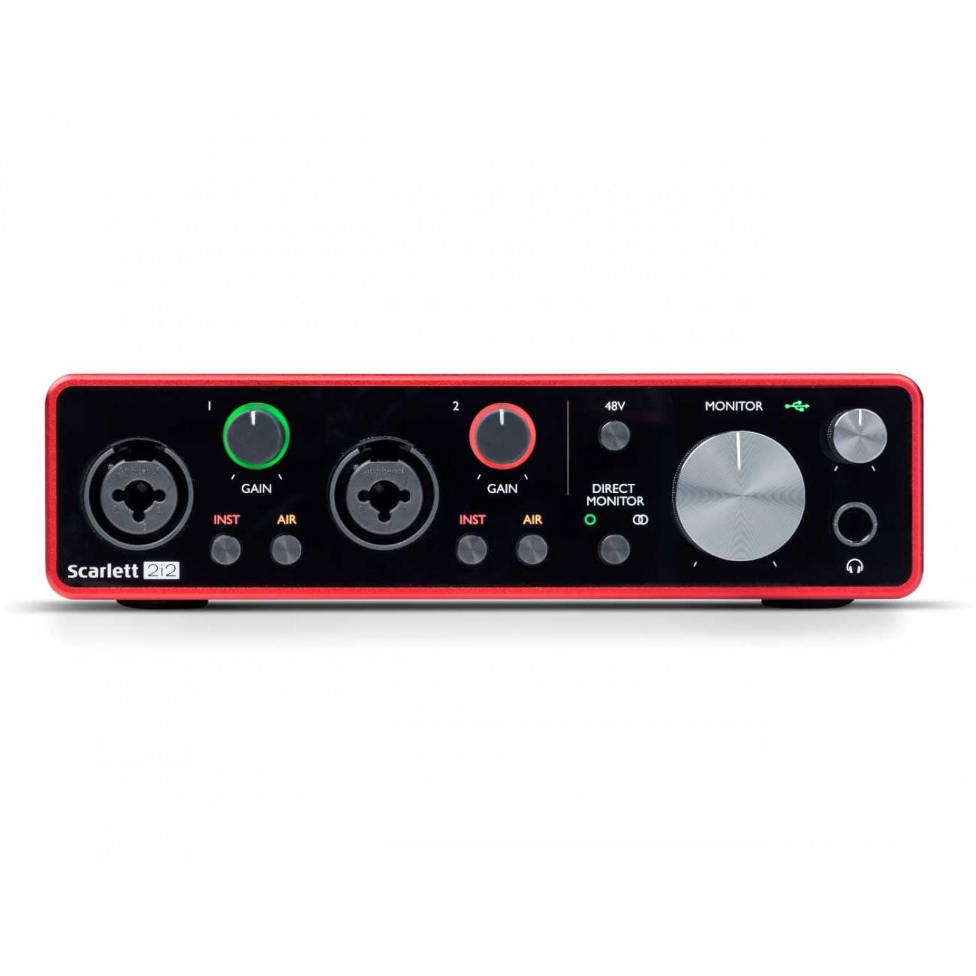 Focusrite SCARLETT 2i2 3rd Gen   Rage Audio