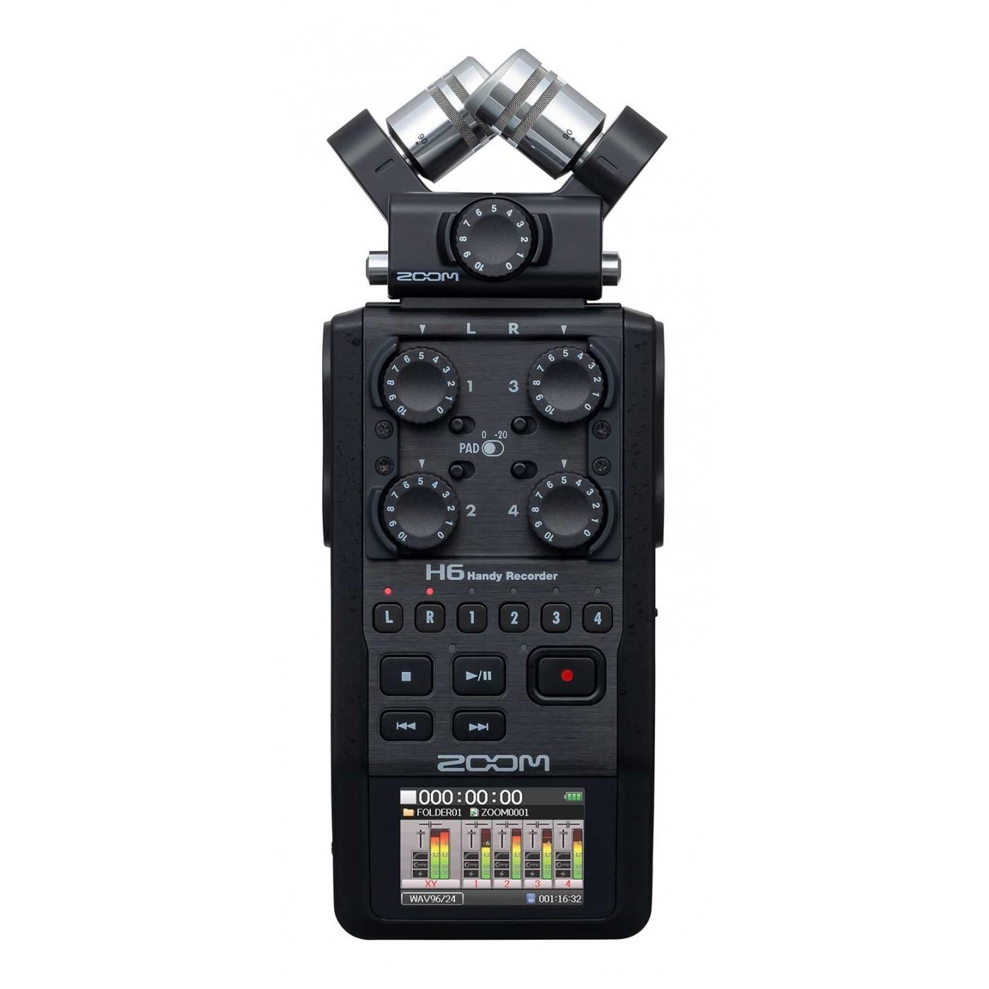 Zoom H6 Black | Rage Audio