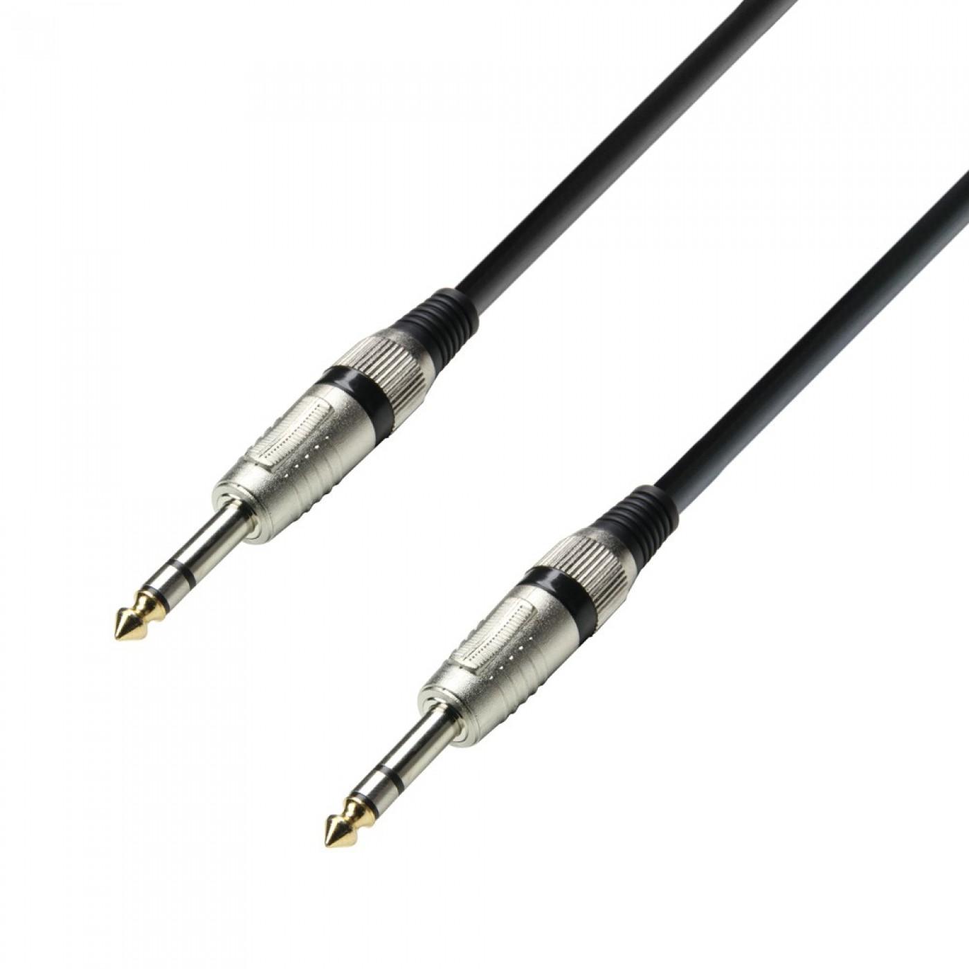 Adam Hall Cable 3 Star Jack 6,3mm estéreo a Jack 6,3mm estéreo 6m
