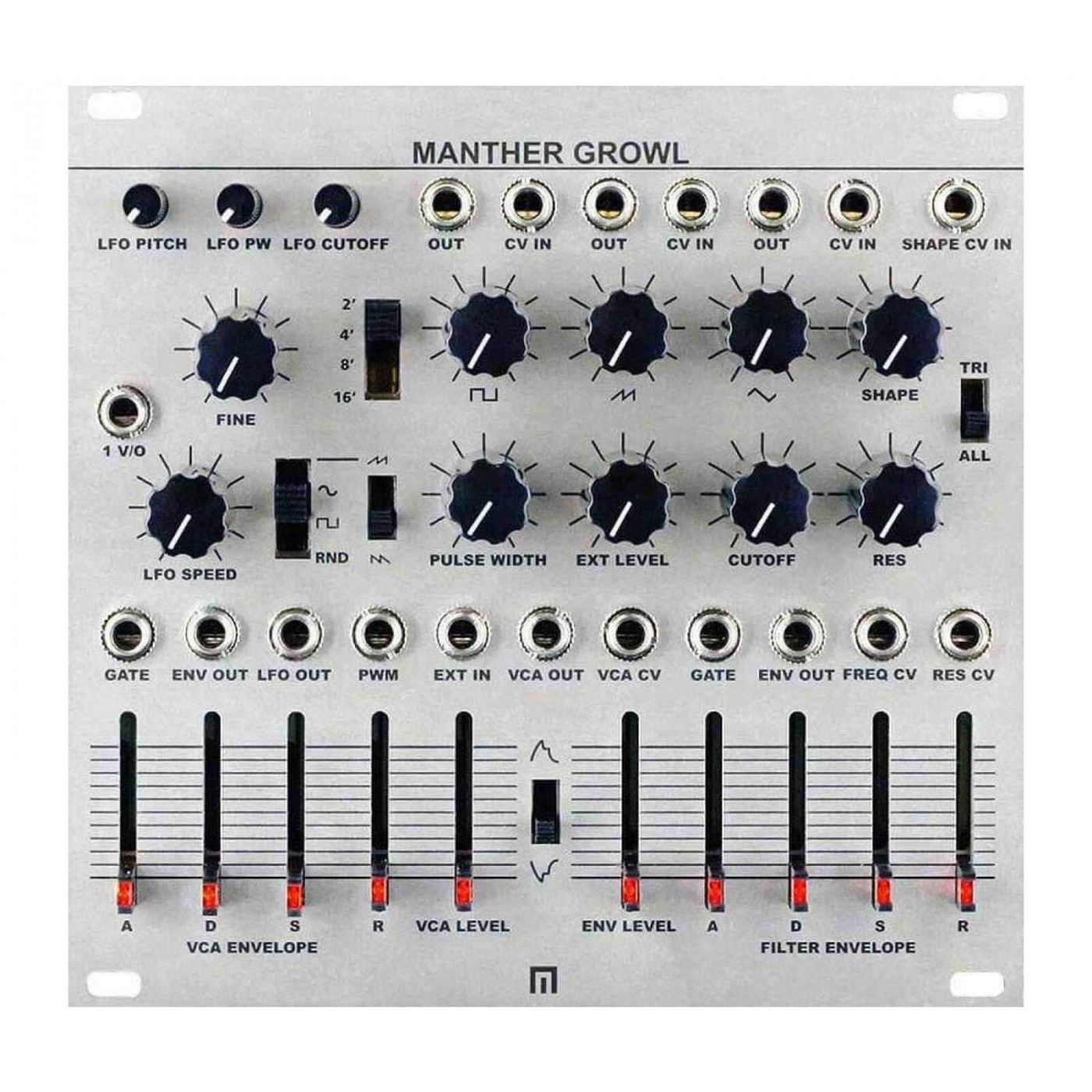 Malekko MANTHER Growl Module | Rage Audio