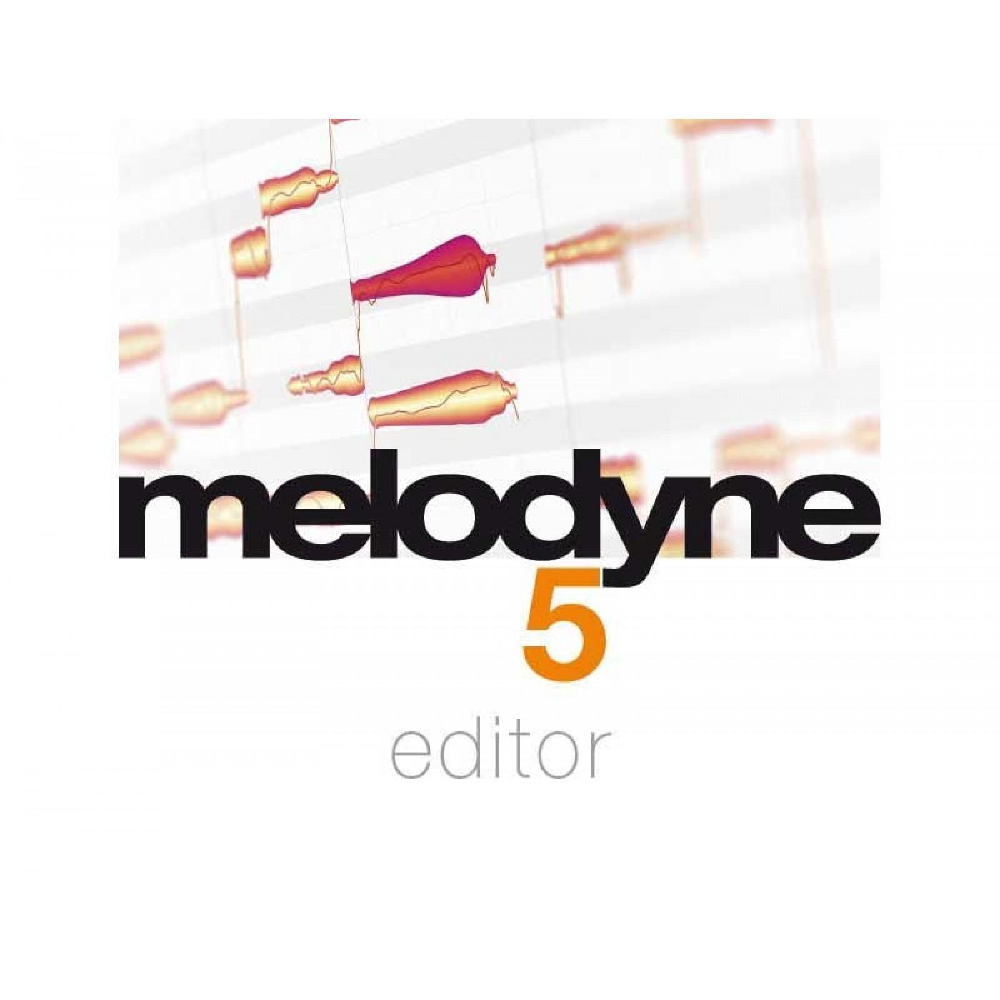 Celemony MELODYNE 5 Editor Upgrade Melodyne Assistant