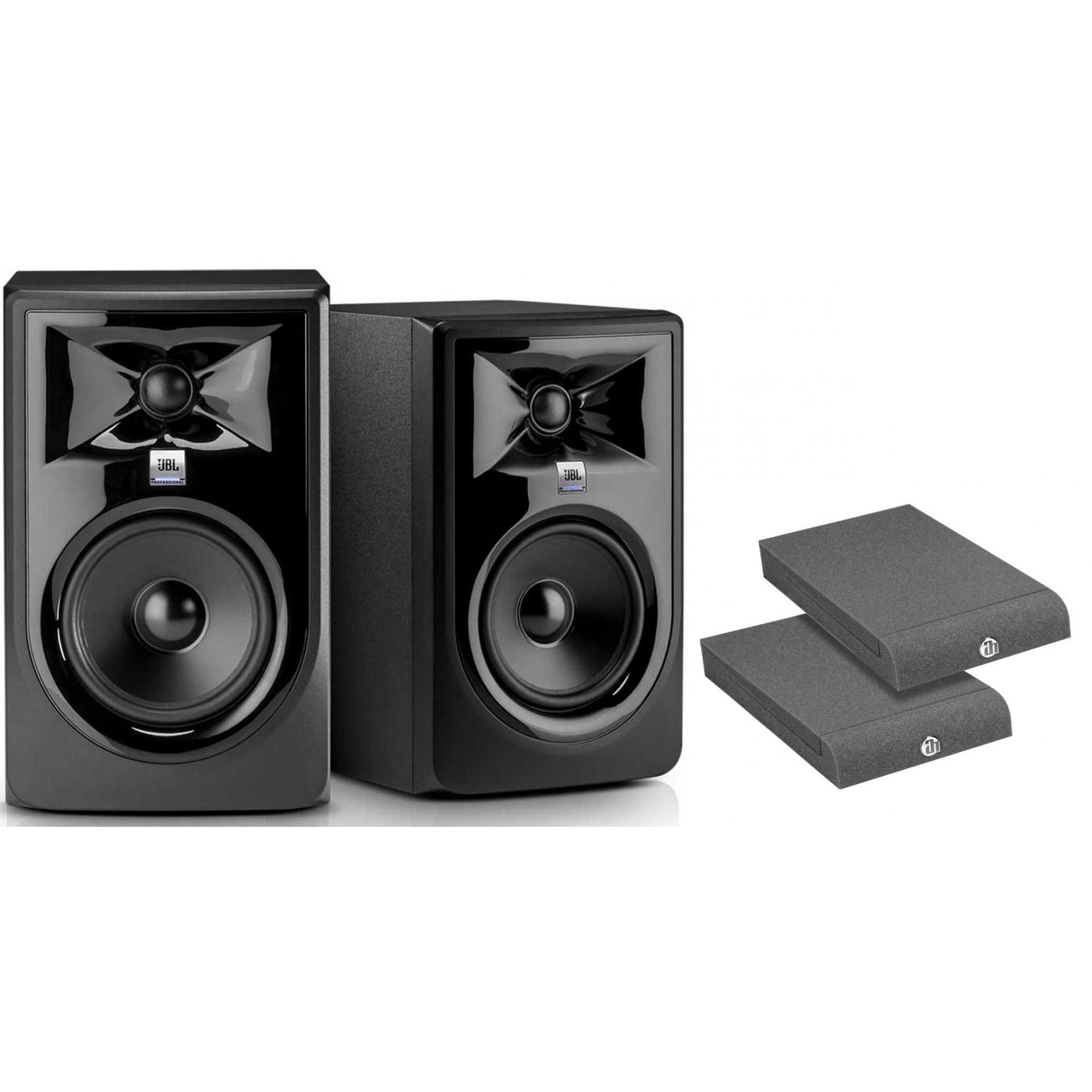 JBL LSR 305P MKII Pareja + Aislantes | Rage Audio
