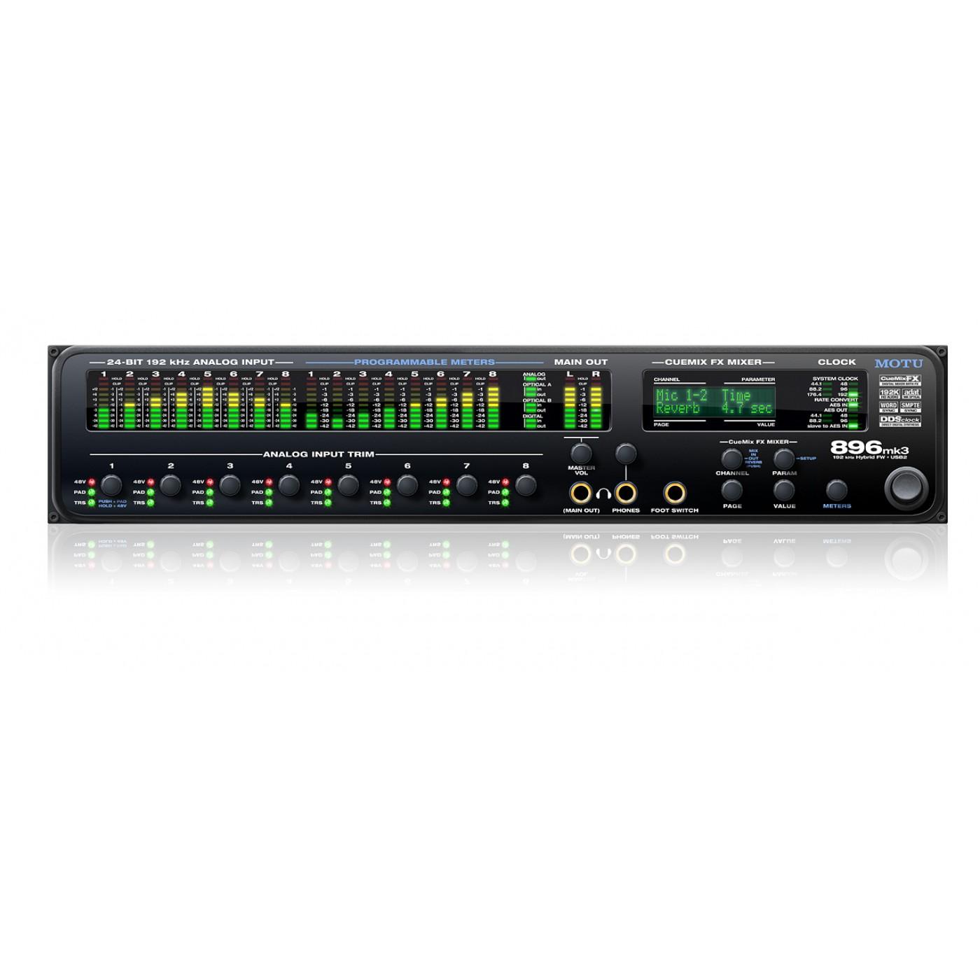 Motu 896 MKIII Hybrid | Rage Audio