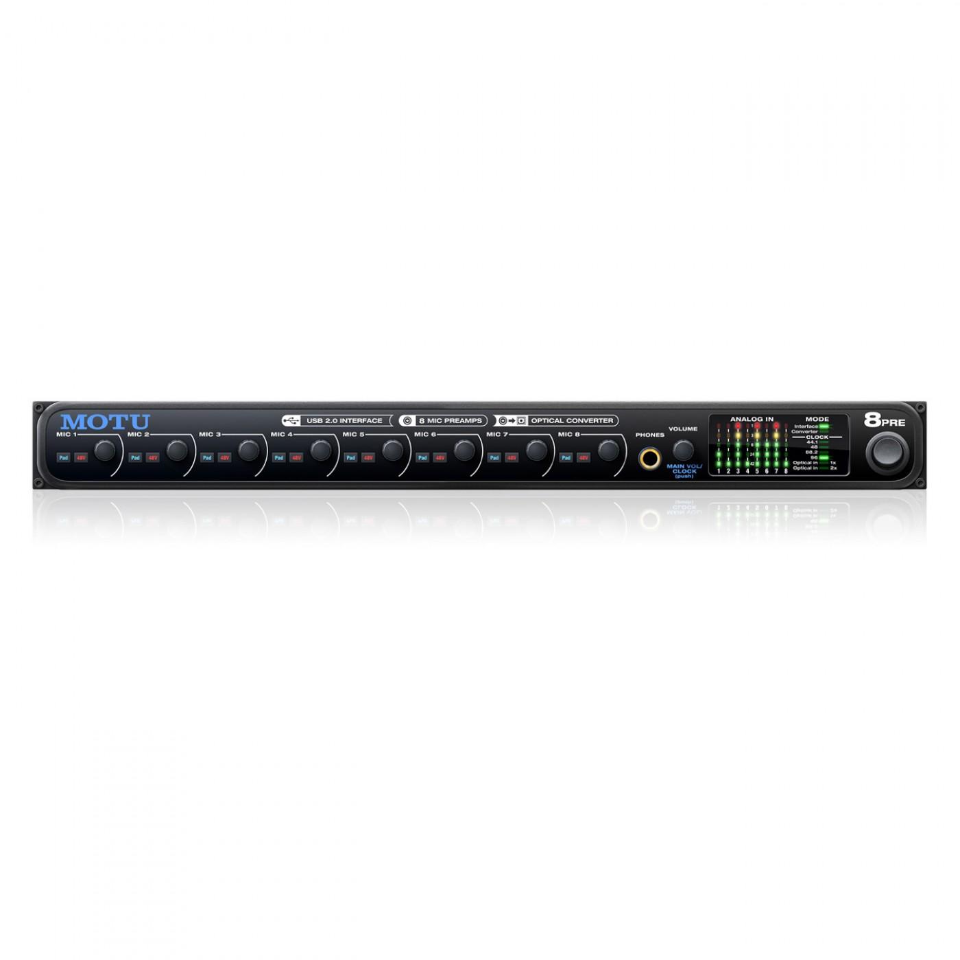 Motu 8Pre USB | Rage Audio