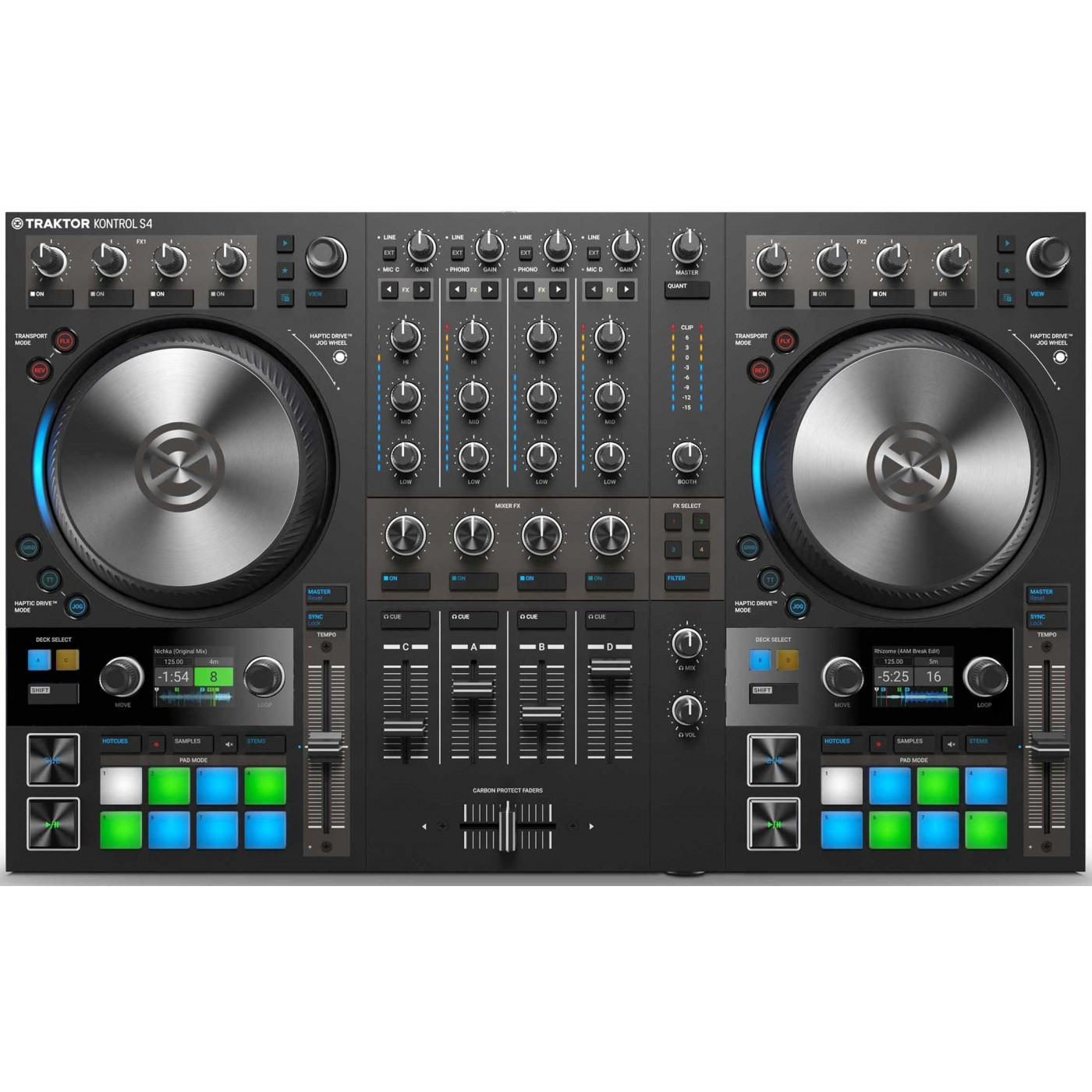Native Instruments TRAKTOR KONTROL S4 MK3 | Rage Audio