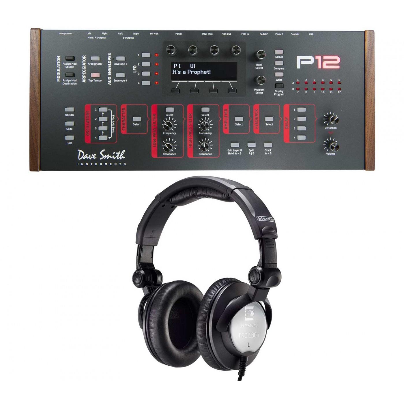 Dave Smith Instruments PROPHET 12 Module Ultrasone Pro-580i | Rage Audio