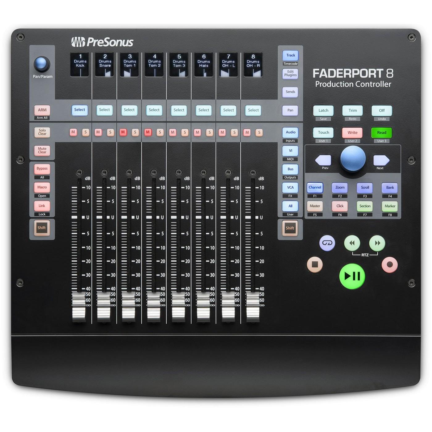 Presonus FADERPORT 8 | Rage Audio
