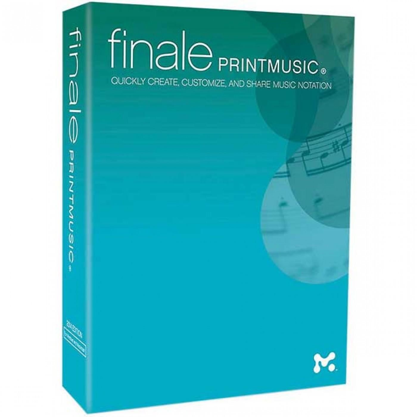 Make Music FINALE PRINTMUSIC 2014 Lab Pack (5 user)