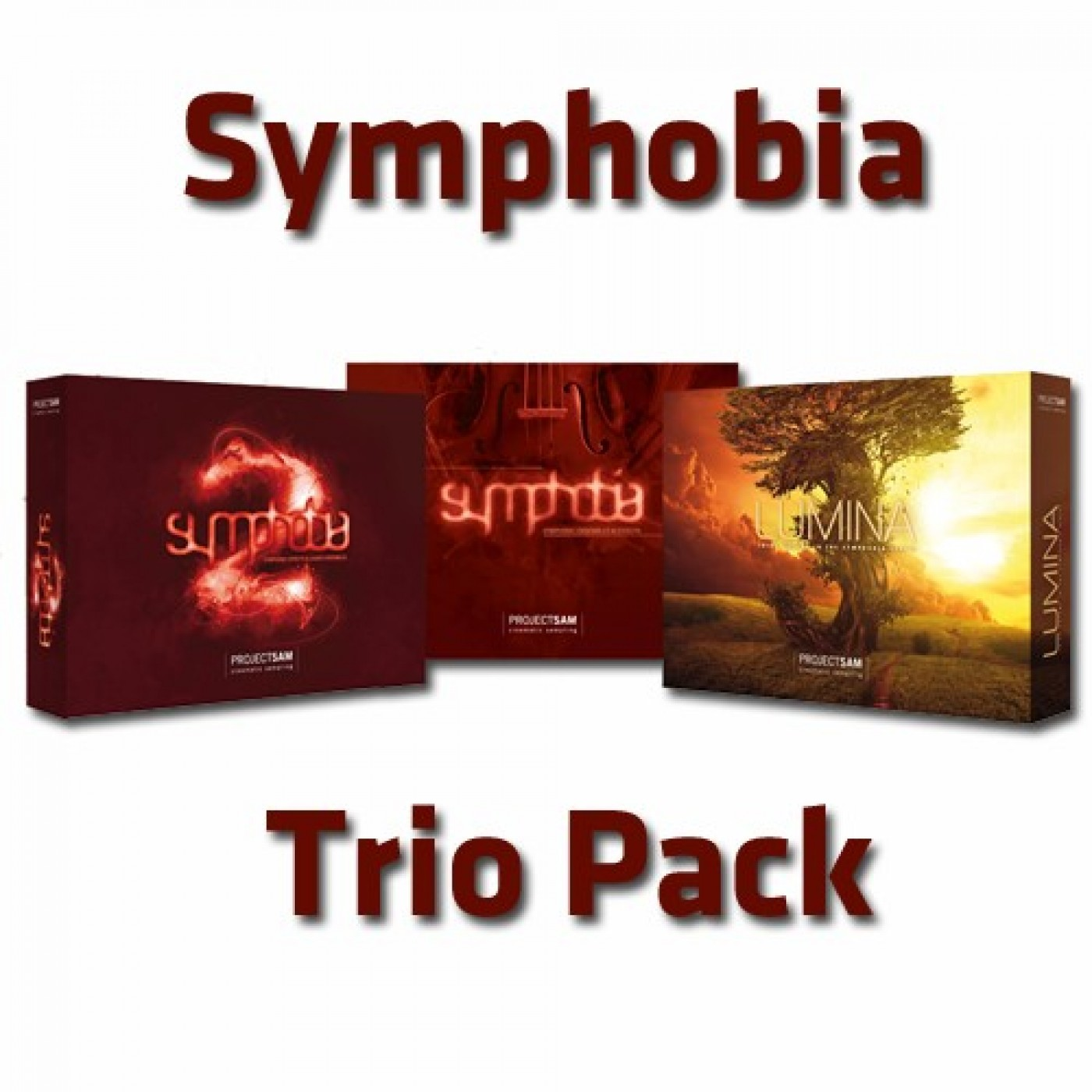 Project Sam SYMPHOBIA Trio Pack | Rage Audio
