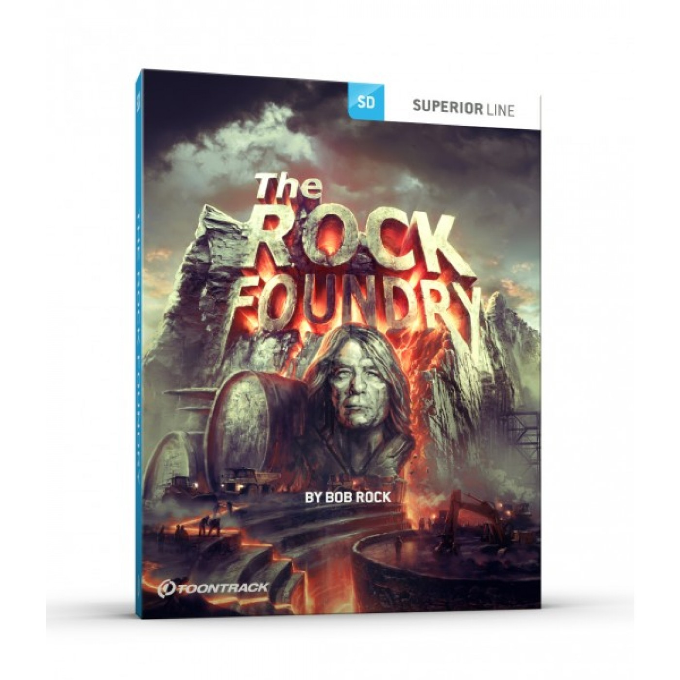 Toontrack SDX: THE ROCK FOUNDRY | Rage Audio