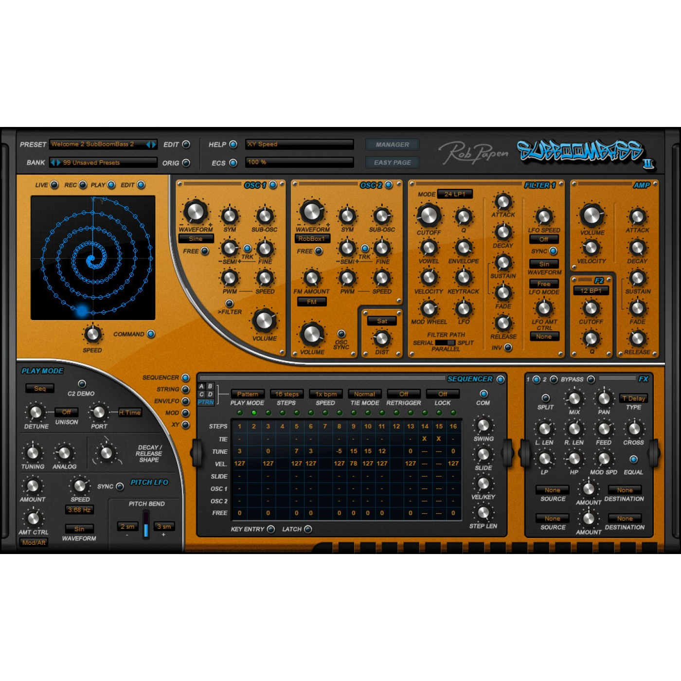 Rob Papen SubBOOMBASS 2 Upgrade | Rage Audio