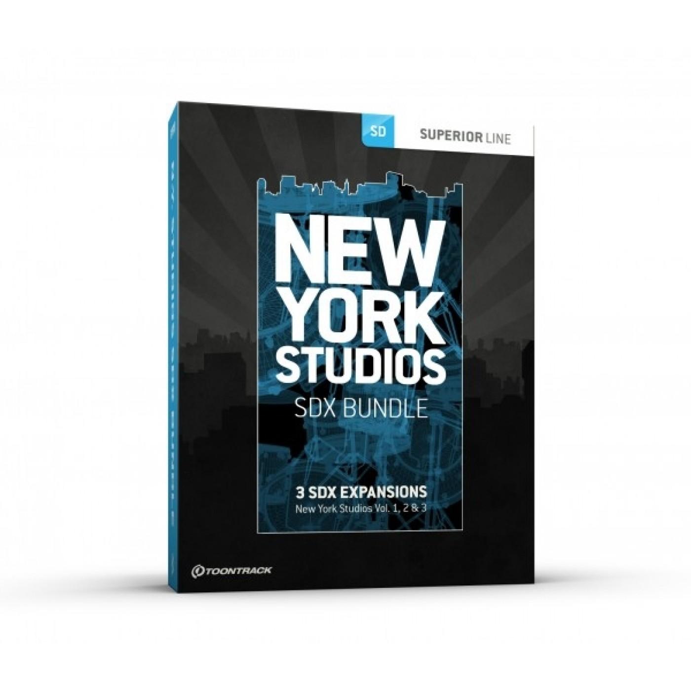 Toontrack SDX NEW YORK STUDIOS Bundle | Rage Audio