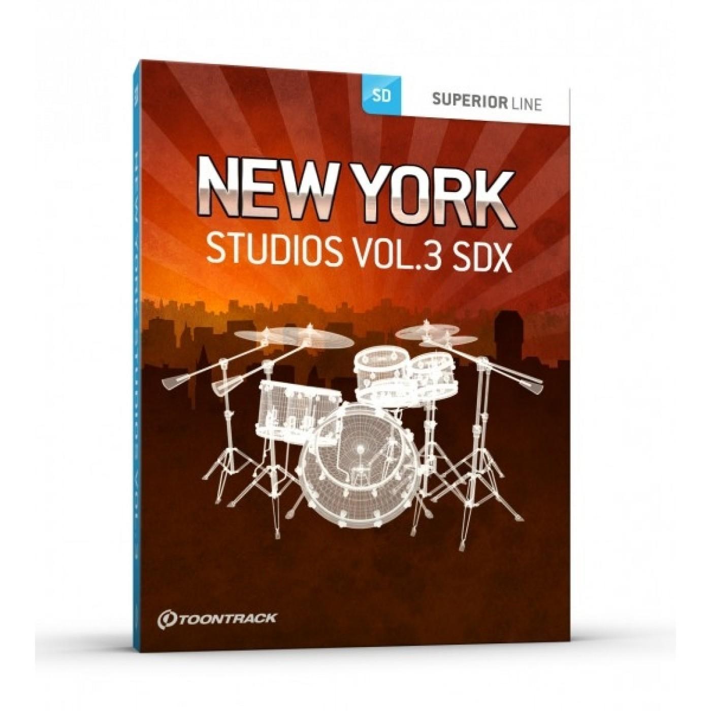 Toontrack SDX NEW YORK STUDIOS Vol3   Rage Audio