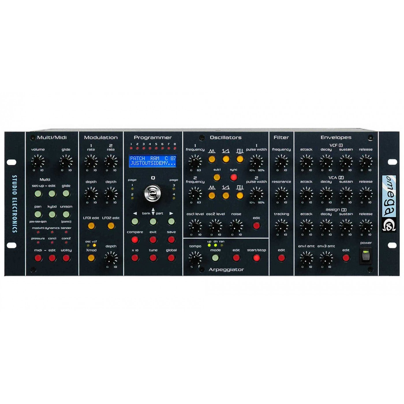 Studio Electronics OMEGA 8 | Rage Audio