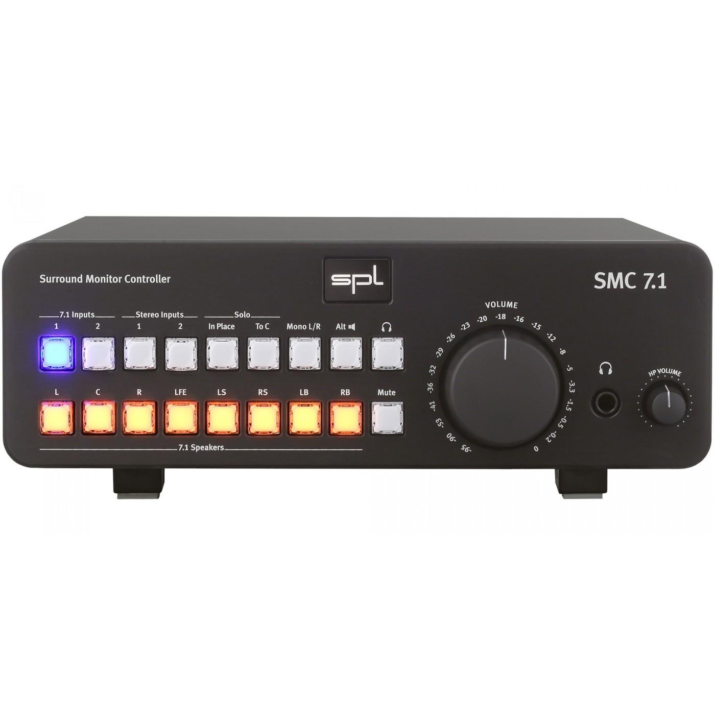 SPL SMC 7.1 Black | Rage Audio