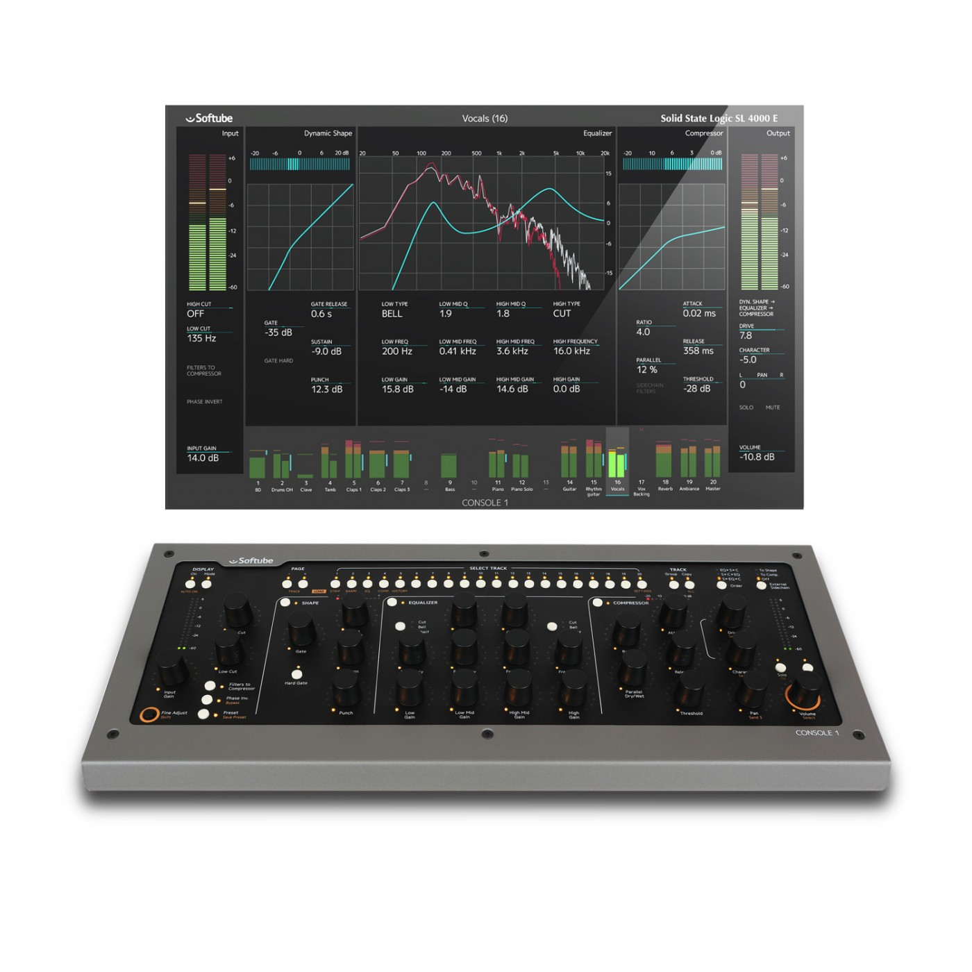 Softube Console 1 MKII | Rage Audio