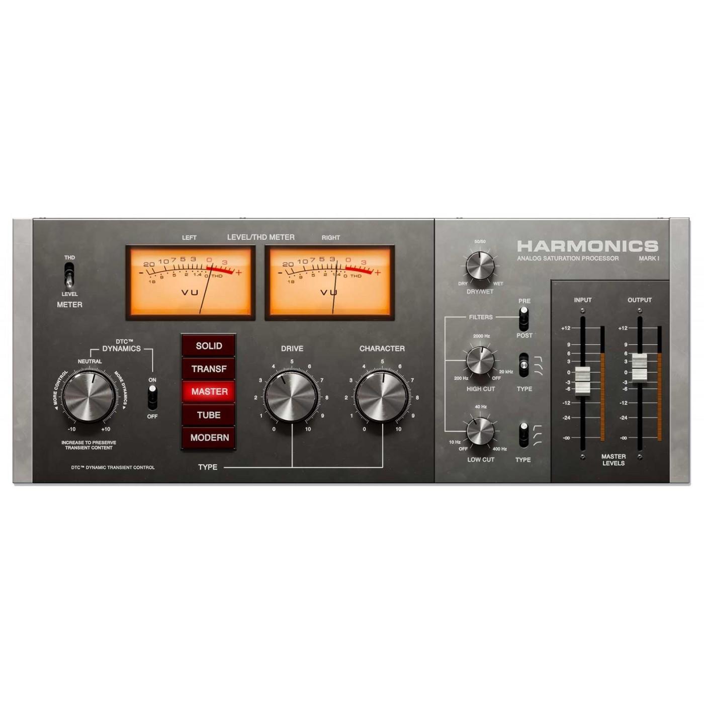 Softube HARMONICS ANALOG SATURATION Processor | Rage Audio