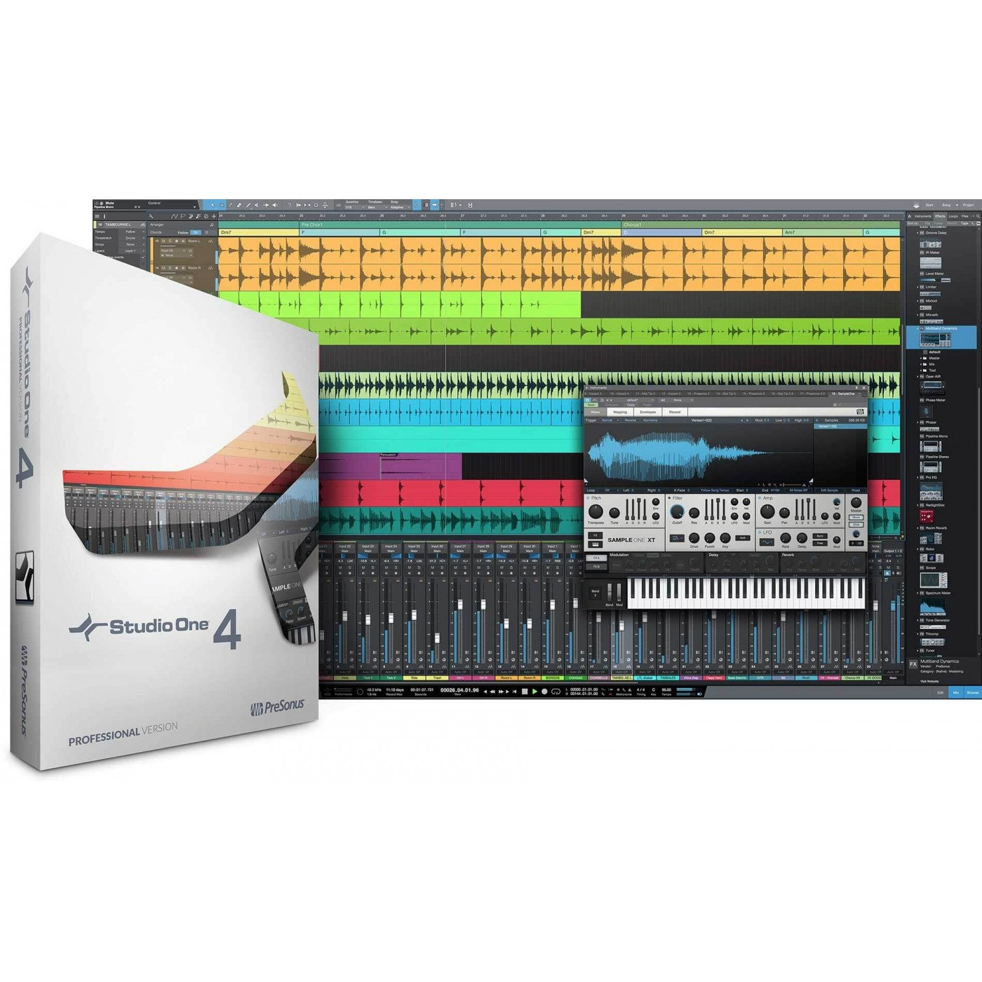 Presonus STUDIO ONE 4 Professional | Rage Audio