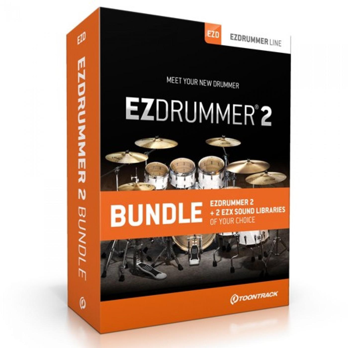 Toontrack EZDRUMMER 2 Bundle | Rage audio