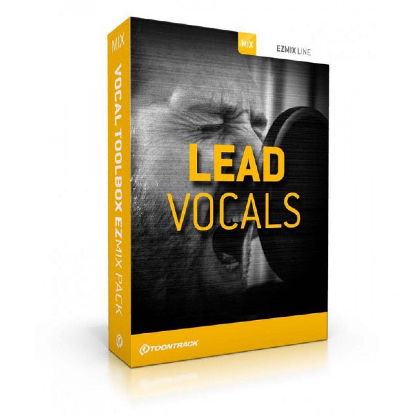 Toontrack EZmix 2 Lead Vocals Preset Pack