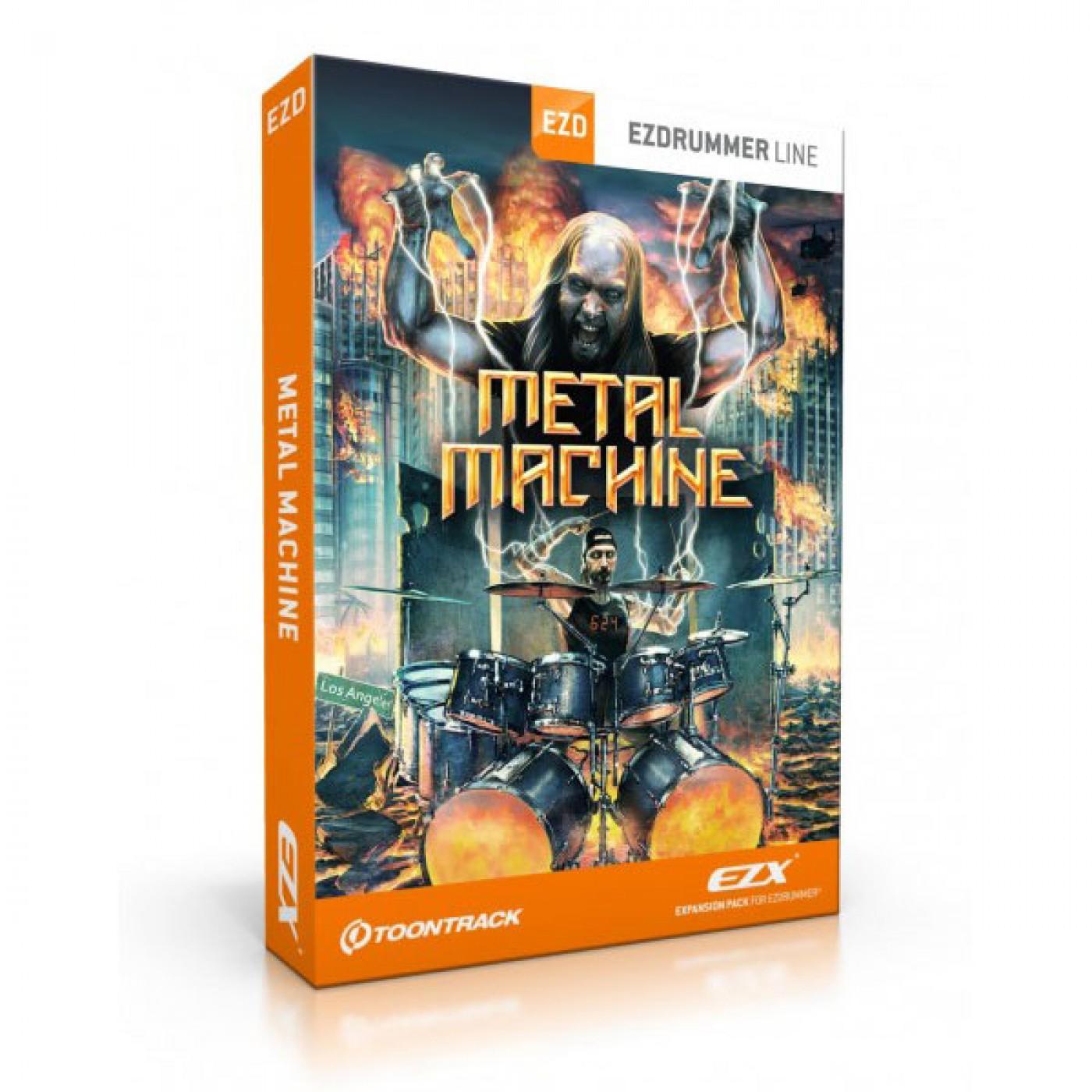 Toontrack EZX METAL MACHINE   Rage Audio