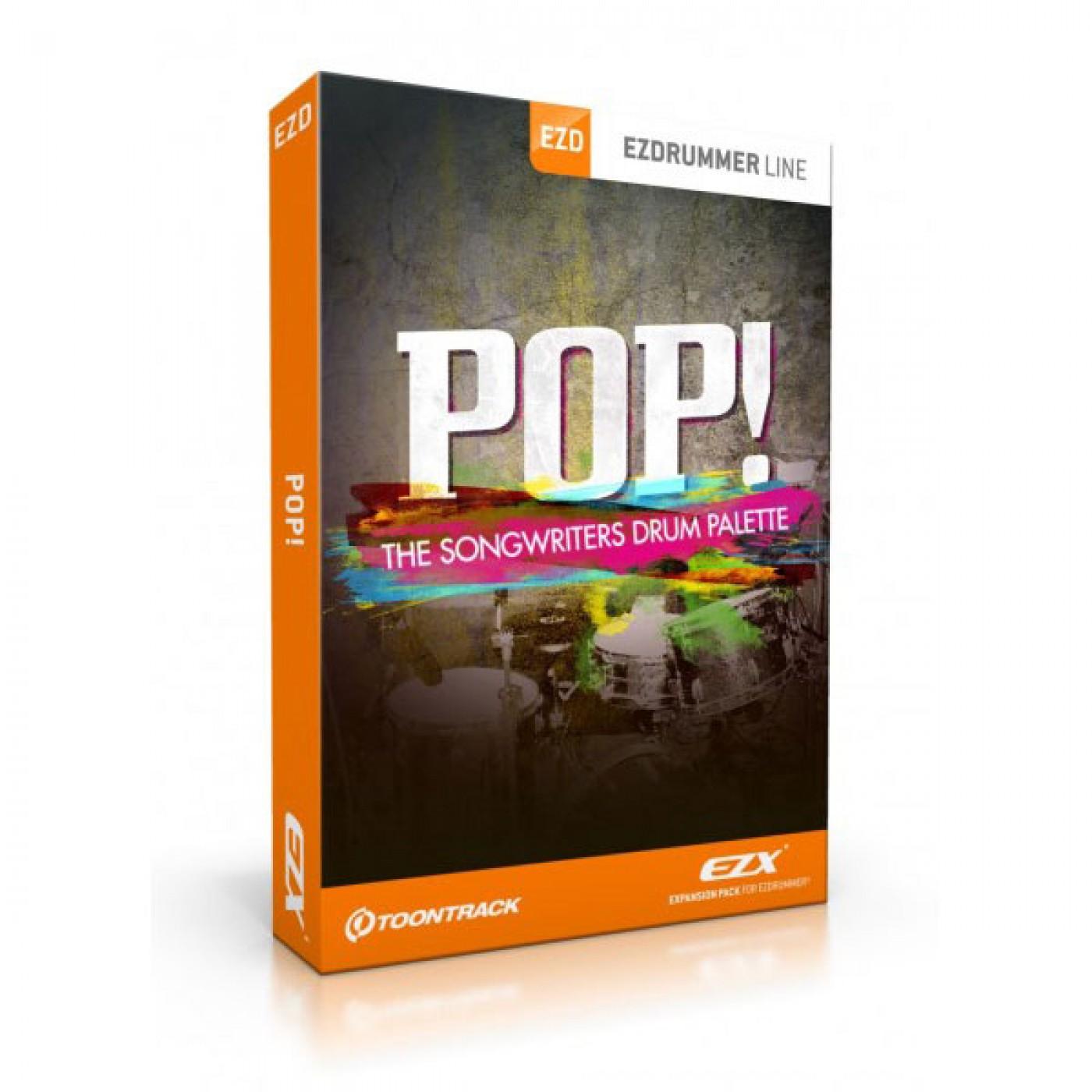 Toontrack EZX POP   Rage Audio