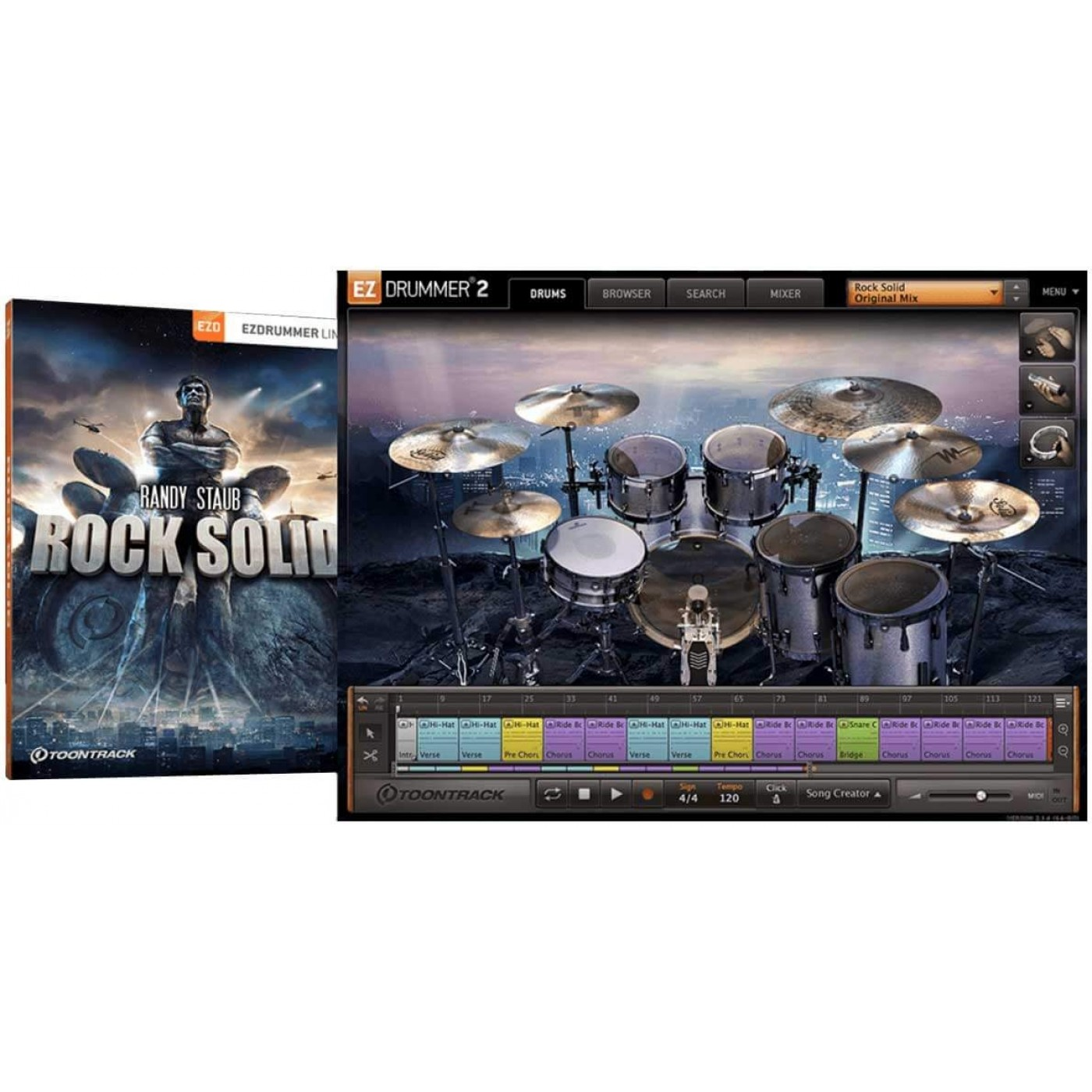 Toontrack EZX ROCK SOLID | Rage Audio
