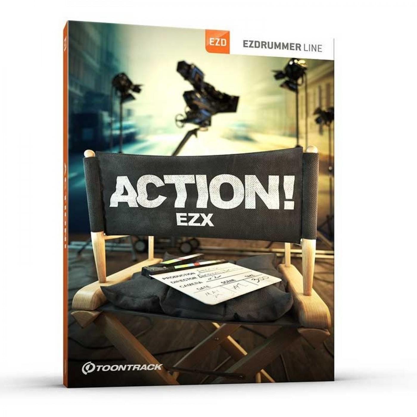 Toontrack EZX ACTION | Rage Audio