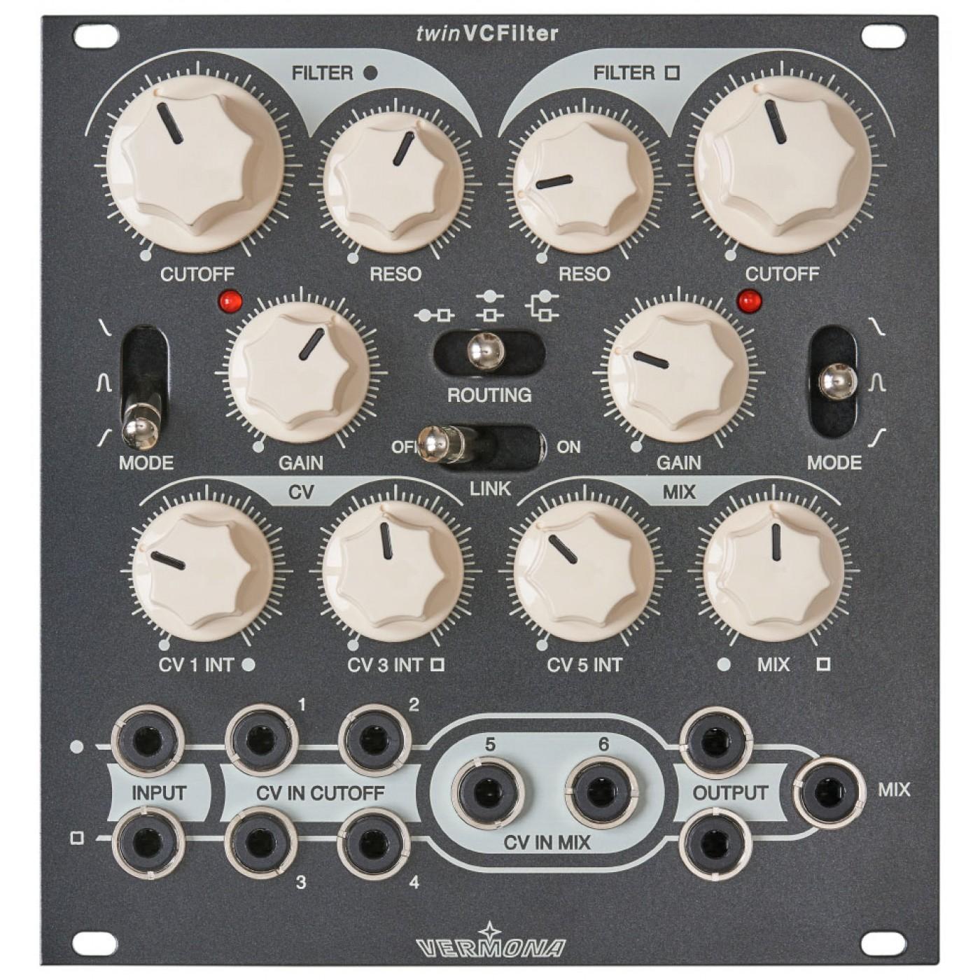 Vermona Modular TwinVCFilter