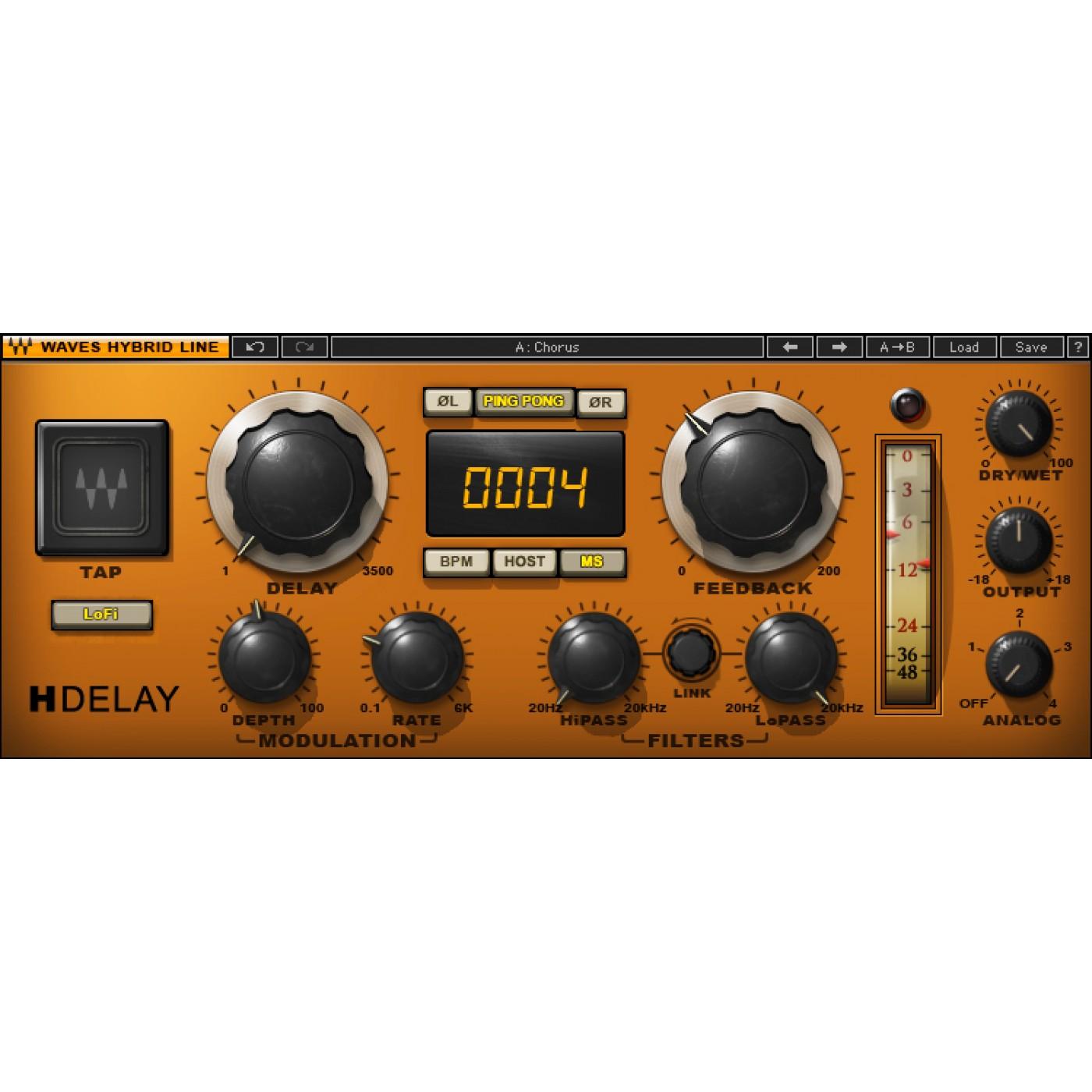 Waves H-DELAY Hybrid Delay | Rage Audio